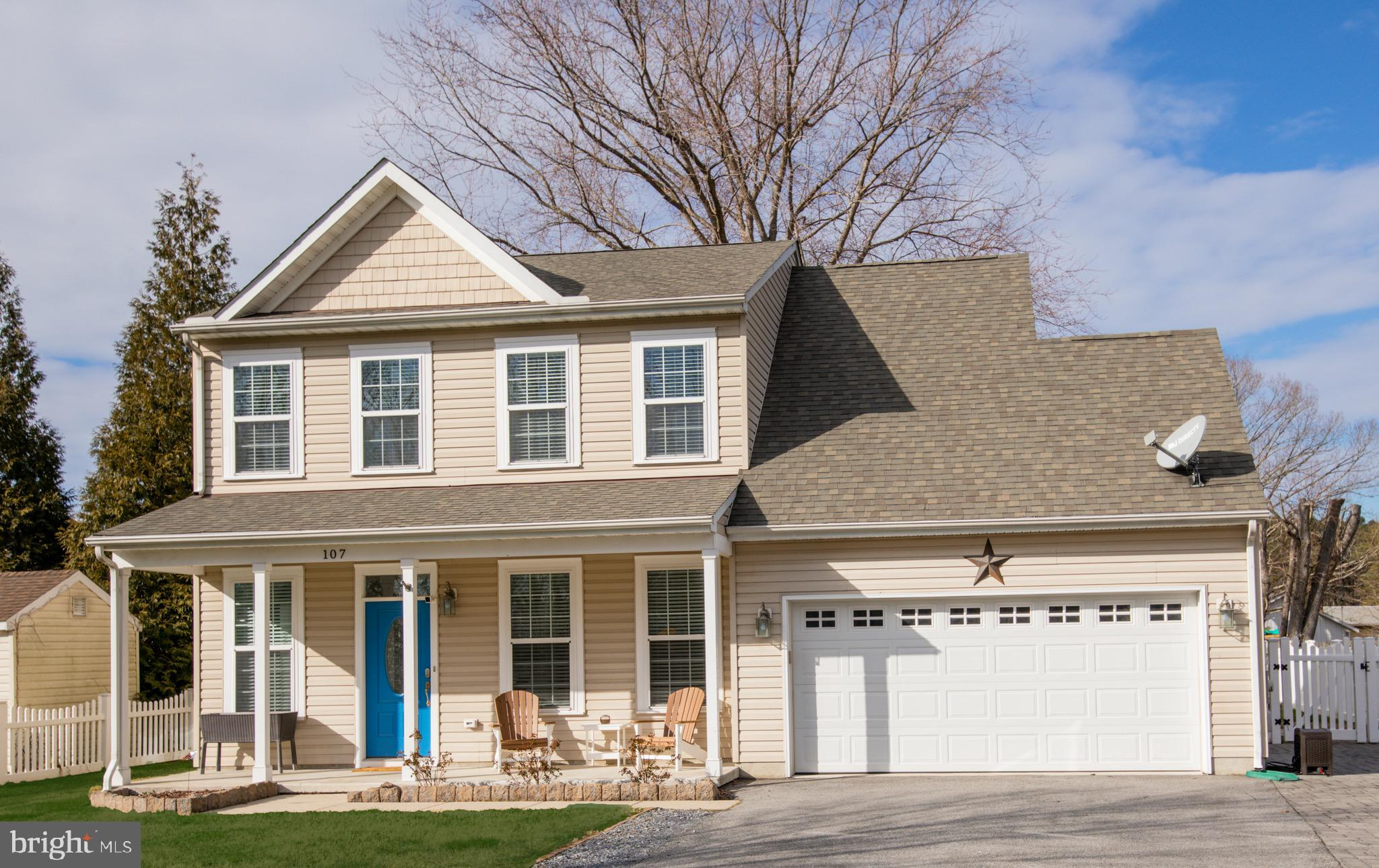 As you pull up the inviting front porch beckons you to come inside to this turnkey home.  Upon enter