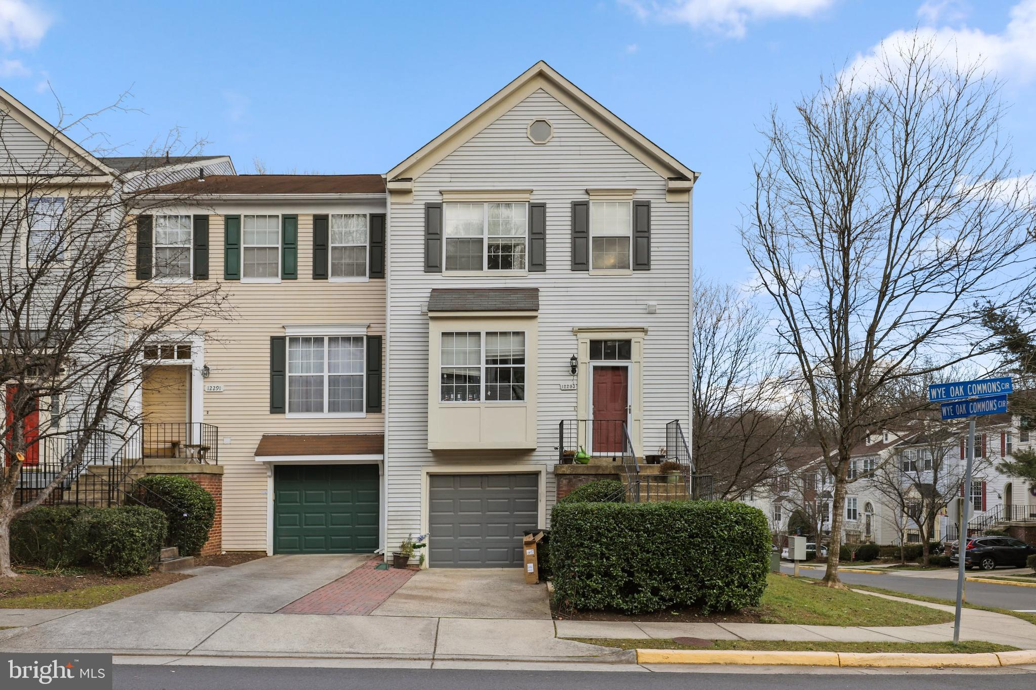 Be sure to see this lovely 3 bedroom, 4 bath end unit town home! Entering this home you are greeted