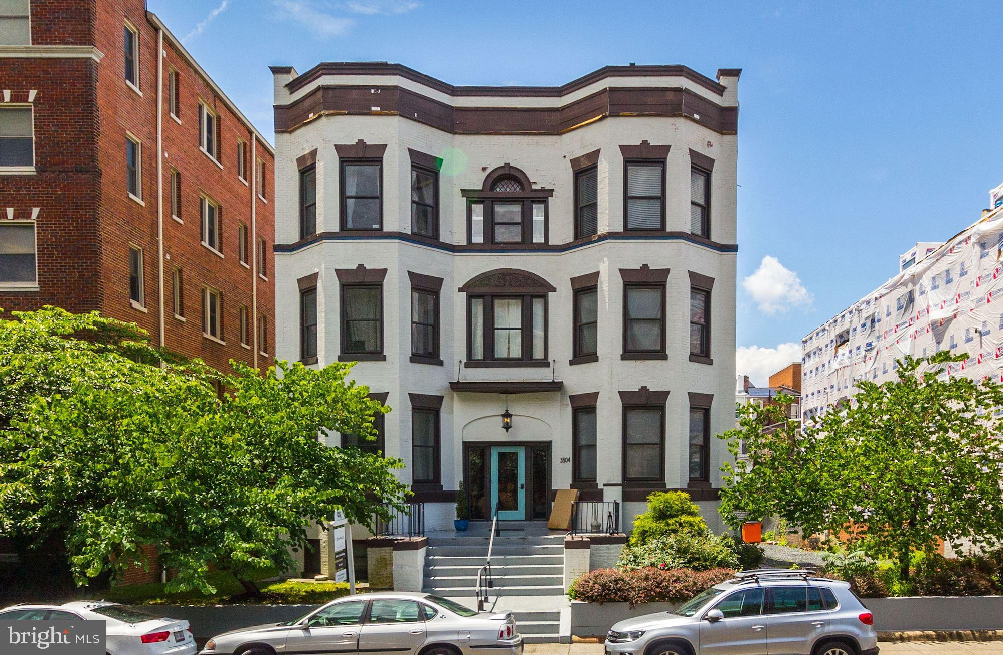 Welcome to 3504 13th Street NW, a beautiful boutique building located in the heart of Columbia Heigh