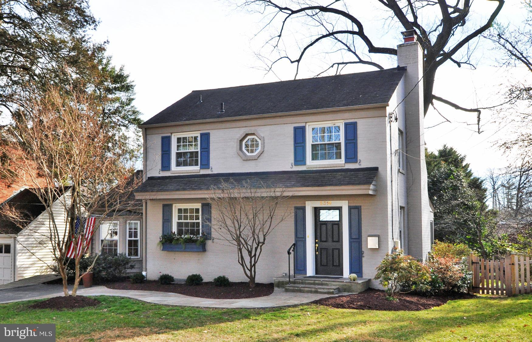 New on Market....Open Sat (1-3)/Sun 1-3:30).  Excellent condition 3BR/2.5BA painted brick colonial.