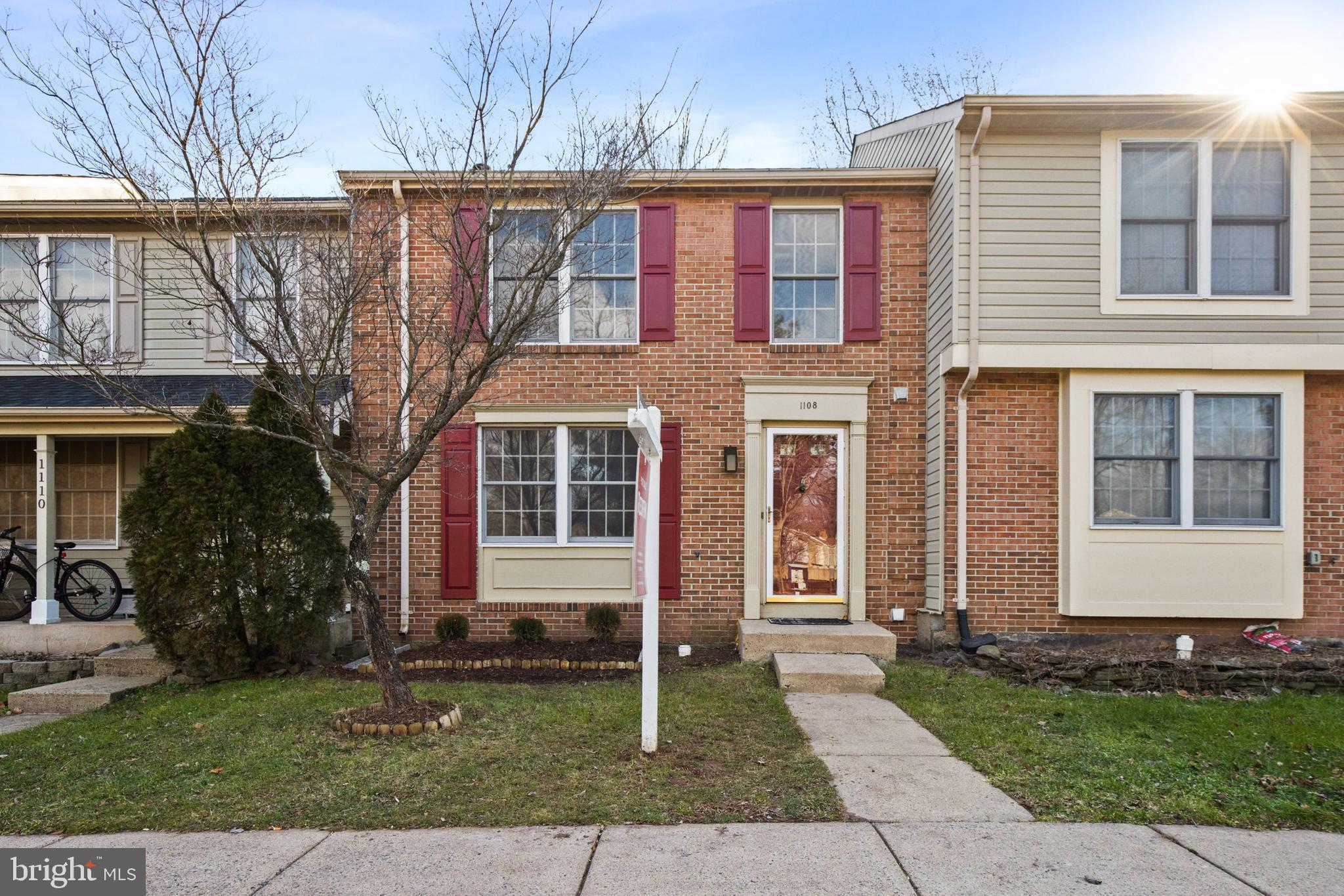 Welcome to this beautifully maintained brick-front 3-level townhouse with 3 BR and 3.5 BA in highly