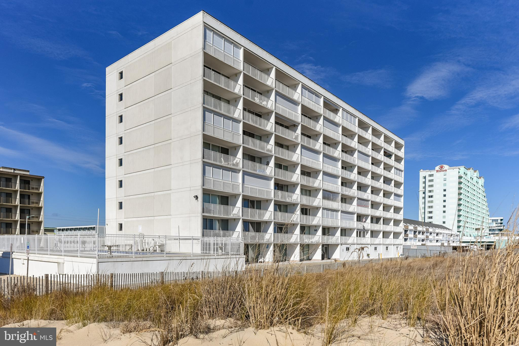Top Floor Unit in Prime, Direct Ocean Front Building Featuring a One Bedroom, One and Half Baths in Sea Gate Condominium, Unit is in Excellent Condition, Ocean Front Pool, Secure Lobby, Excellent Association, 2 Blocks north of the World Famous Boardwalk, Many Ocean City  Attractions within walking distance, Sliding  Glass Door replaced in the last few years, Hurricane Shutters, this unit features an extra 1/2 bath not available some of other units, Excellent Rental Potential, Sold Fully Furnished. Great Place to escaped too and enjoy the sounds of the Ocean. Summer is Coming.......