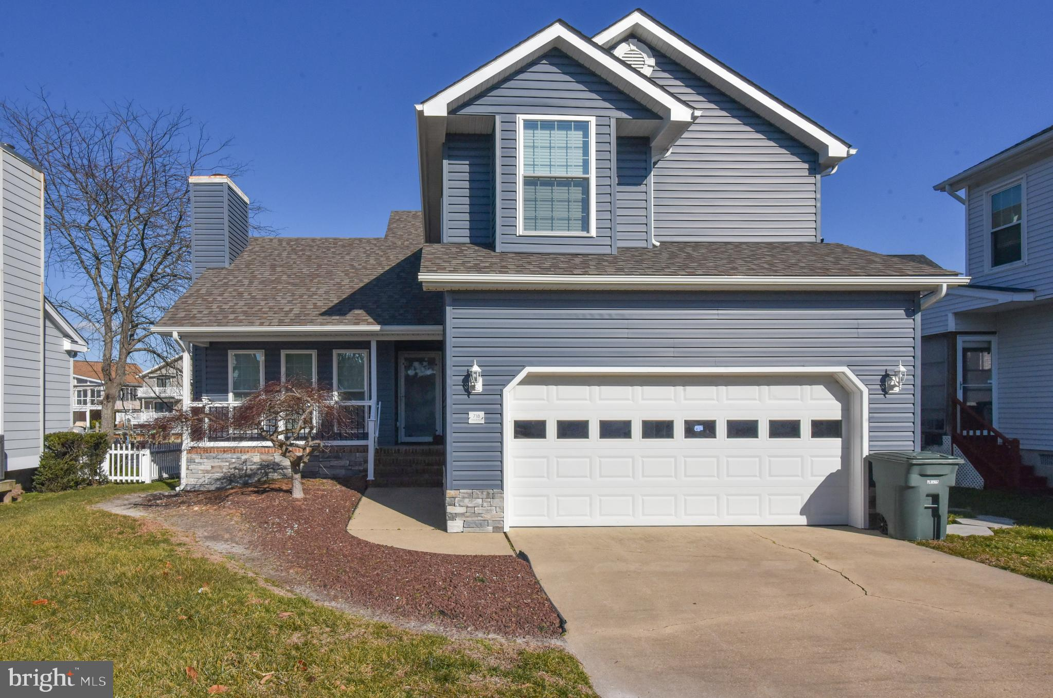 You do not want to miss this gem * Canal front with boat dock * North Ocean City * Completely renova