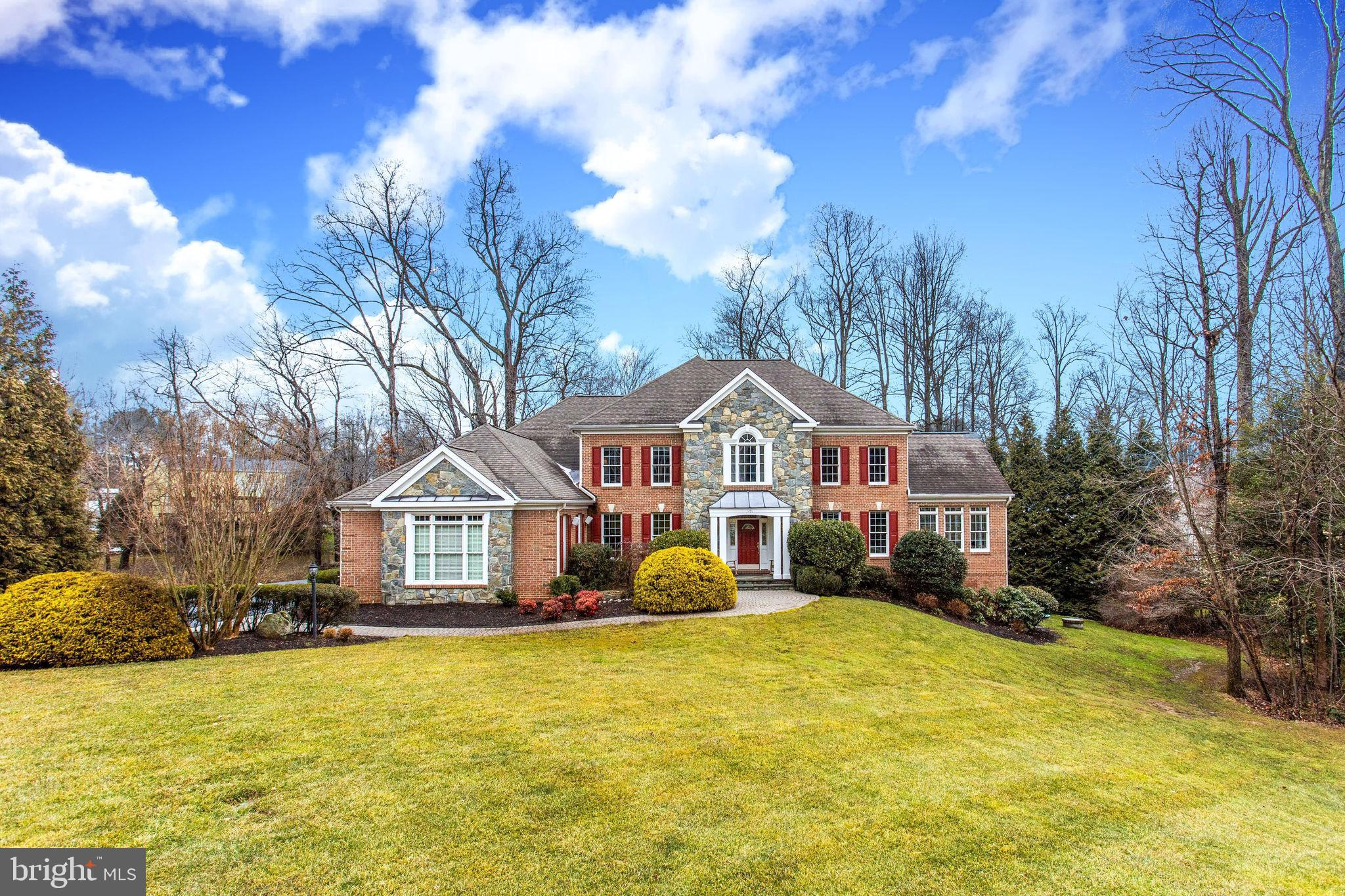 Welcome to this spectacular 6 bedroom brick residence within the popular Fox Run neighborhood.  This