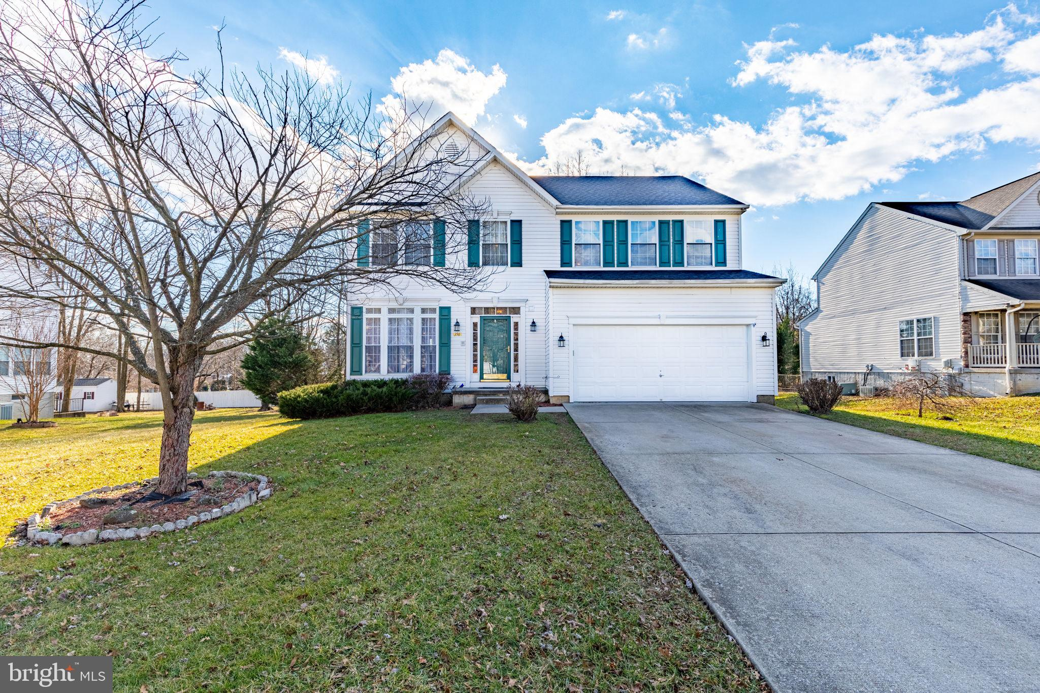 Welcome to 396 Hillcrest Drive in Aberdeen,  MD. This  beautiful colonial is located on large lot cl