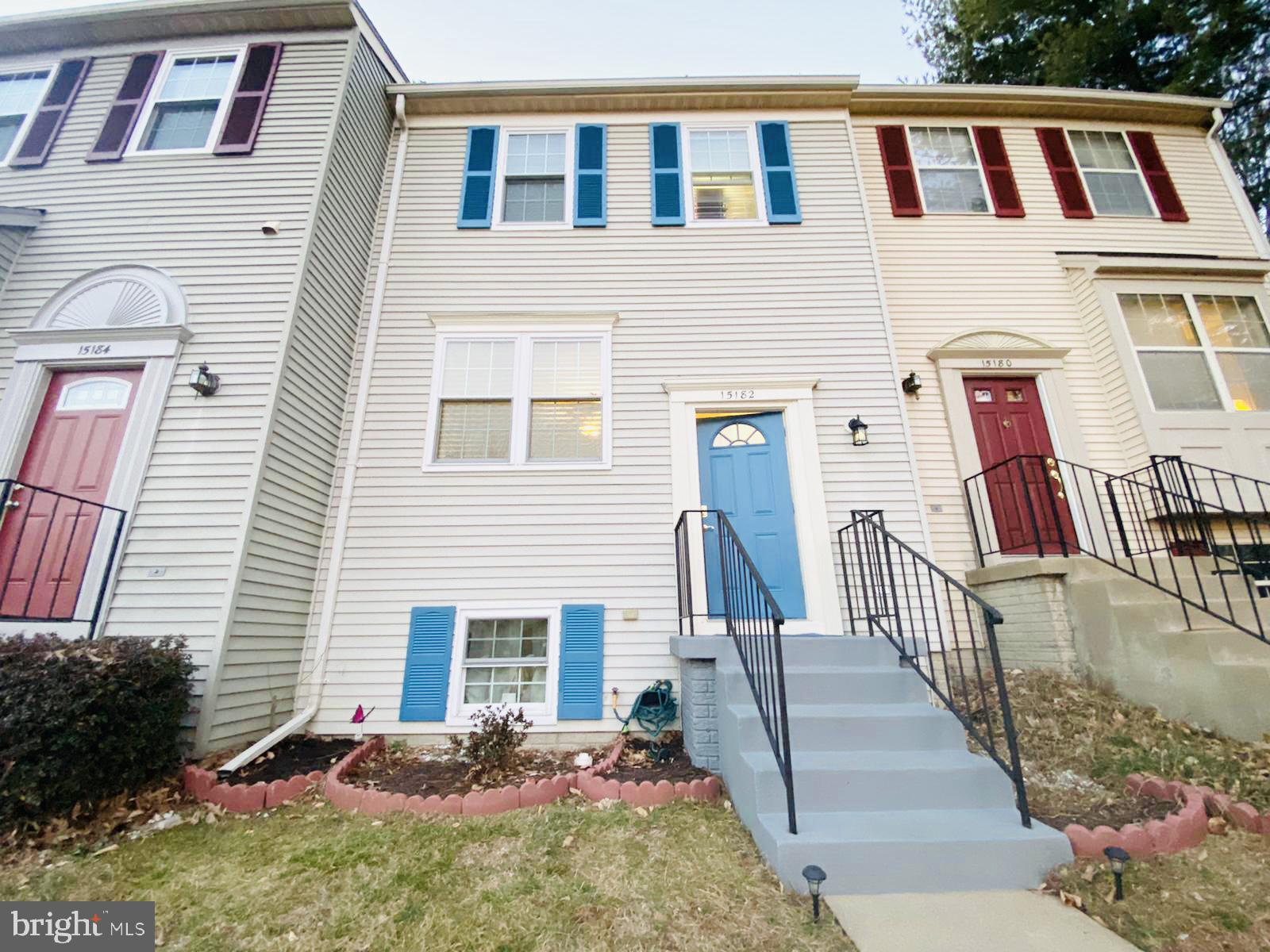 3 level townhouse with 3 bedrooms and 2.5 baths. Private back yard with fencing and a private deck.