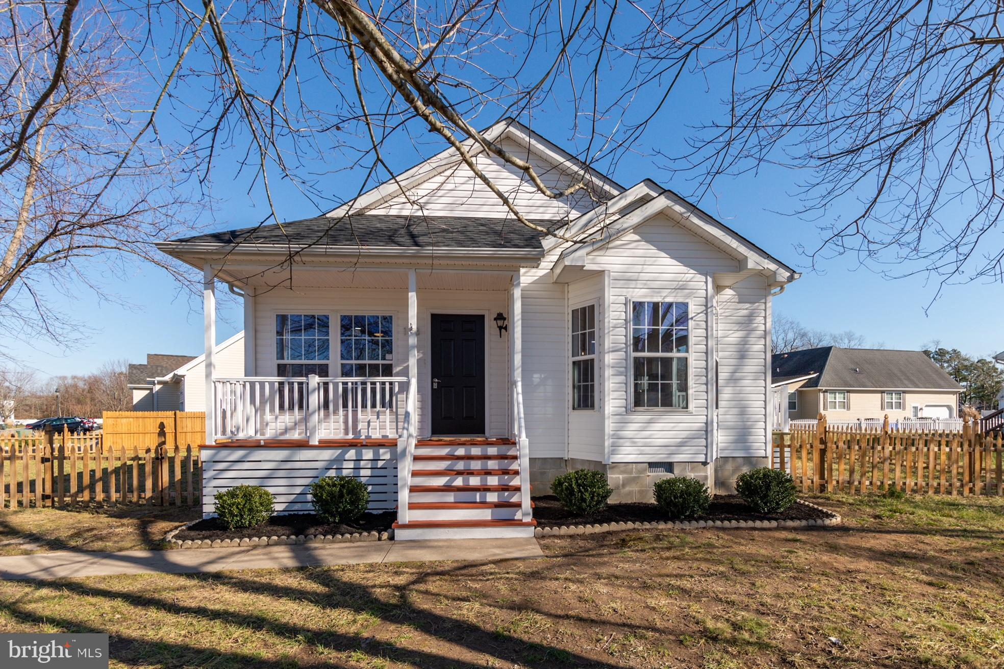 This 3 bedroom, 2 bath approximately 1400 square foot Berlin home has personality that pops.  New ro