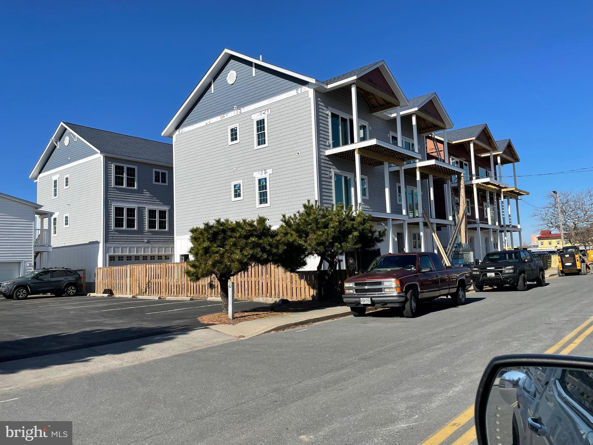 Coming Summer 2021,  New 3 B/R, 2 Full Bath, Two Half  Bath Waterfront Townhomes, two car garage, wa