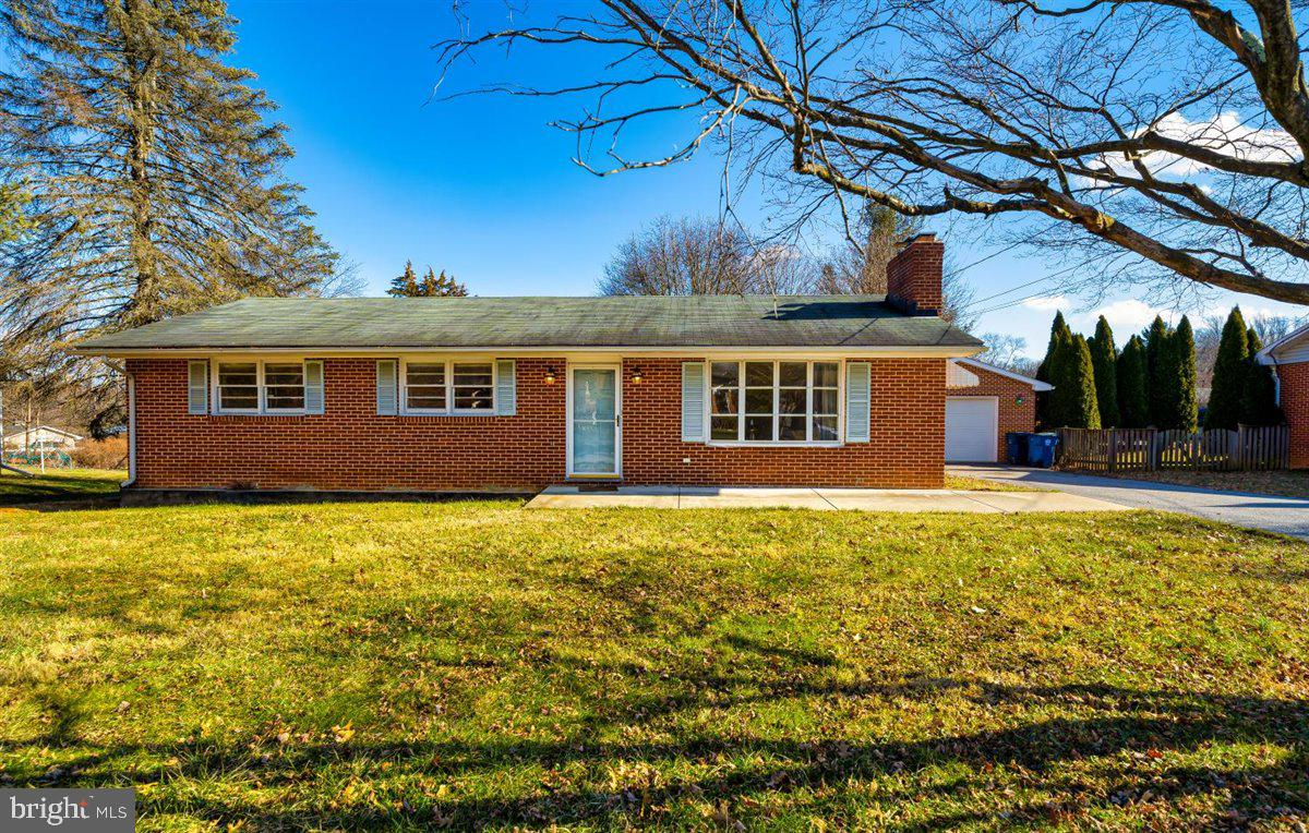 Brick rancher in charming Fairfield neighborhood with lots of potential to upgrade and make it your