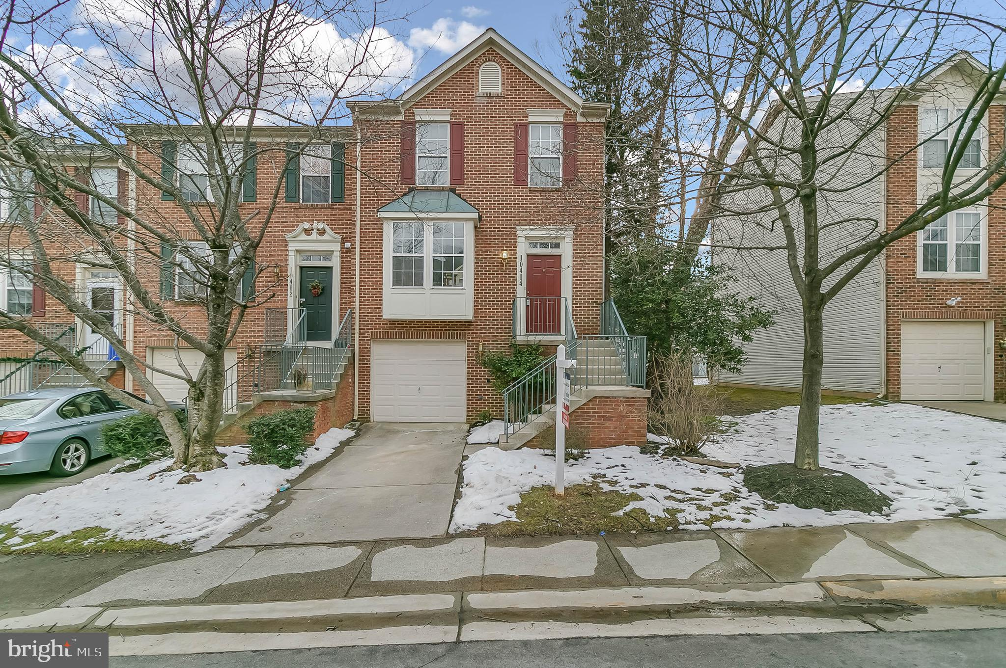 ALL OFFERS ARE DUE BY SATURDAY NOON, FEB 13.  Specious end unit town house in sought-after Potomac G