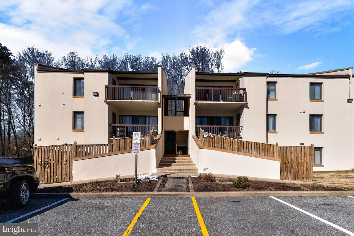 Welcome to Treetop Condominiums.  This unit is a well taken care of two bedroom two bath condo on the terrace level. Offering an abundance of space at just under 1100 square feet. This unit also features a fenced in back yard with patio. Updates include newer kitchen, newer in unit stacked washer and dryer, new dishwasher, and newer HVAC. The perfect place for someone looking for a low maintenance lifestyle with a location nearby Prince George's Community College, University of Maryland Capital Region Medical Center, and Largo Town Center. There is one reserved parking space included.