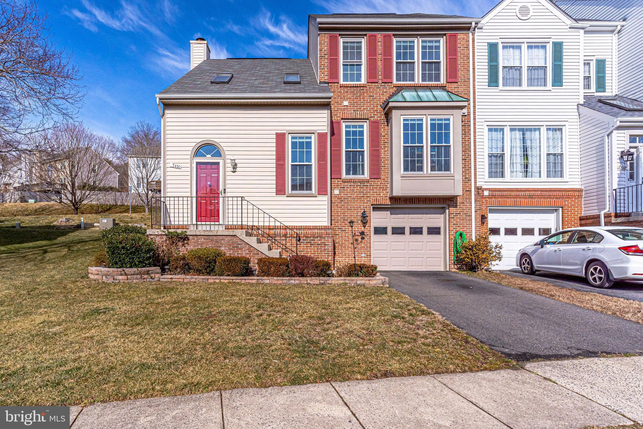 Gorgeous move-in ready Westwater Point end unit Southampton townhouse has over 2,000 sq. ft. of livi