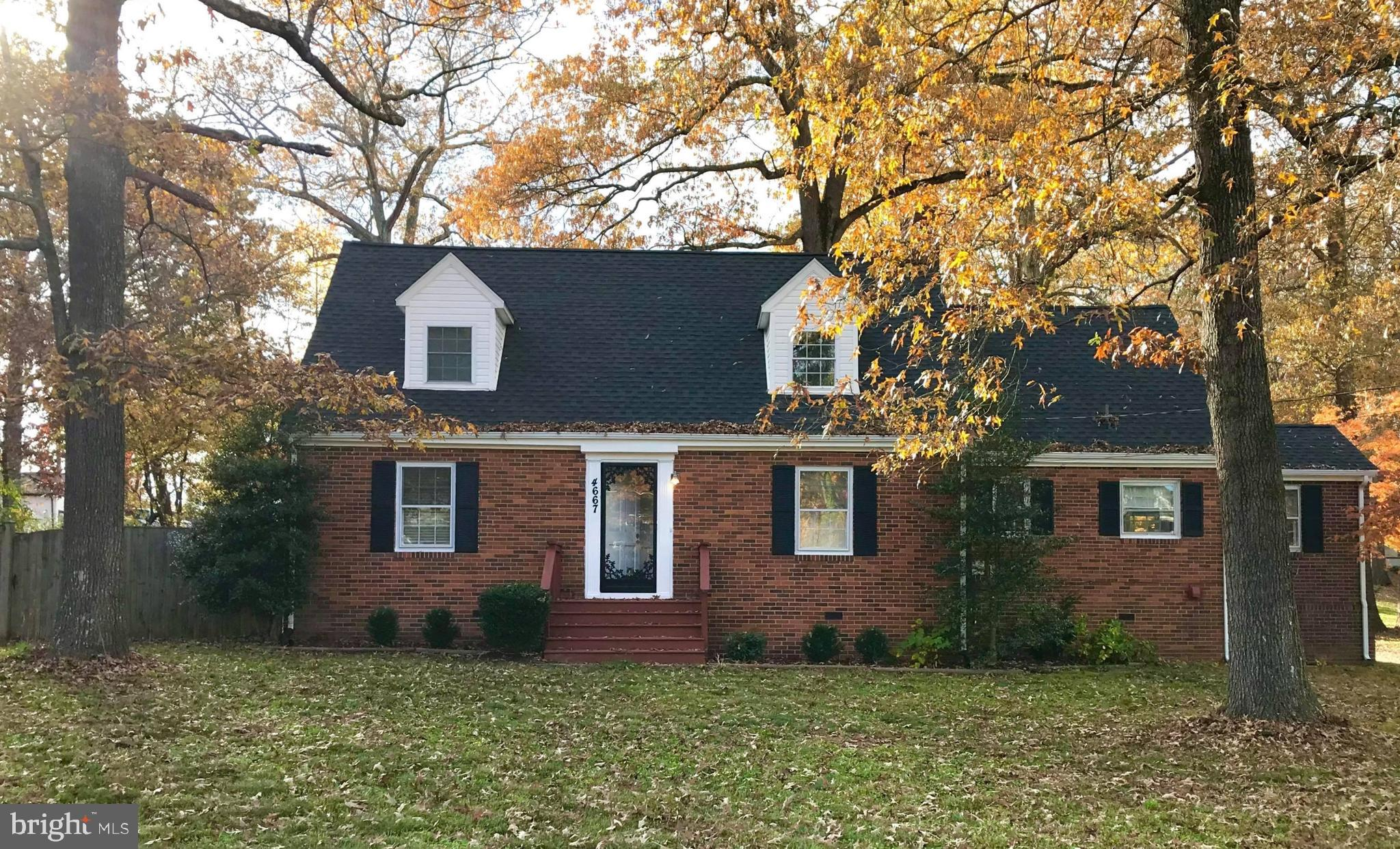 Classic Brick Cape Cod Convenient To All Things Modern and Necessary, Beautiful Hardwood Floors Just