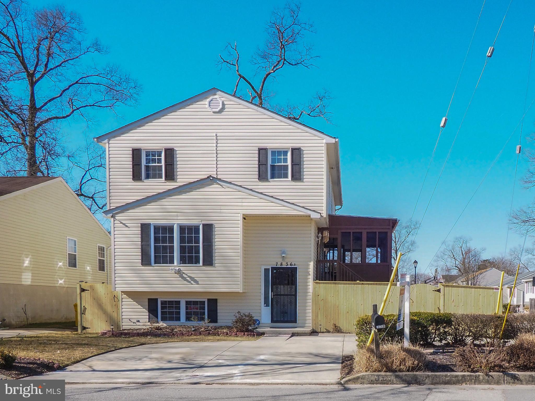 Don't let this 2 story home get away;   Excellent well cared for single family home with recent 3rd