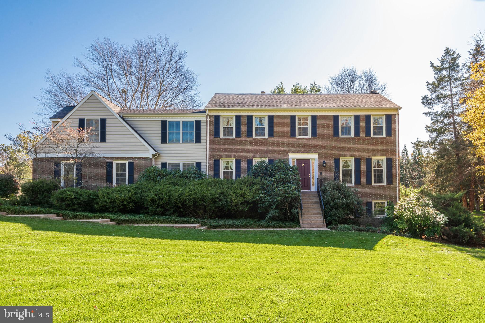 What a House! Beautifully Updated Colonial sited on nearly 4 acres! Featuring 4 Bedrooms and an offi