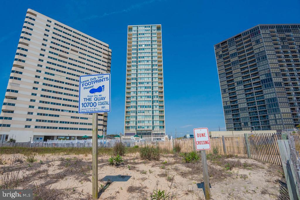 This is it!! A 3 bedroom and two full bath direct ocean front condo with 1512 sqft in The Quay.  Situated on the 8th floor gives this unit the best ocean and beach views as well as views of Ocean City and the bay. The Quay has something for everyone, with indoor and outdoor pools, sauna, games room, tennis, gym and store. The building also provides security and onsite management. This could be the one for you or the rental you have been searching for!!