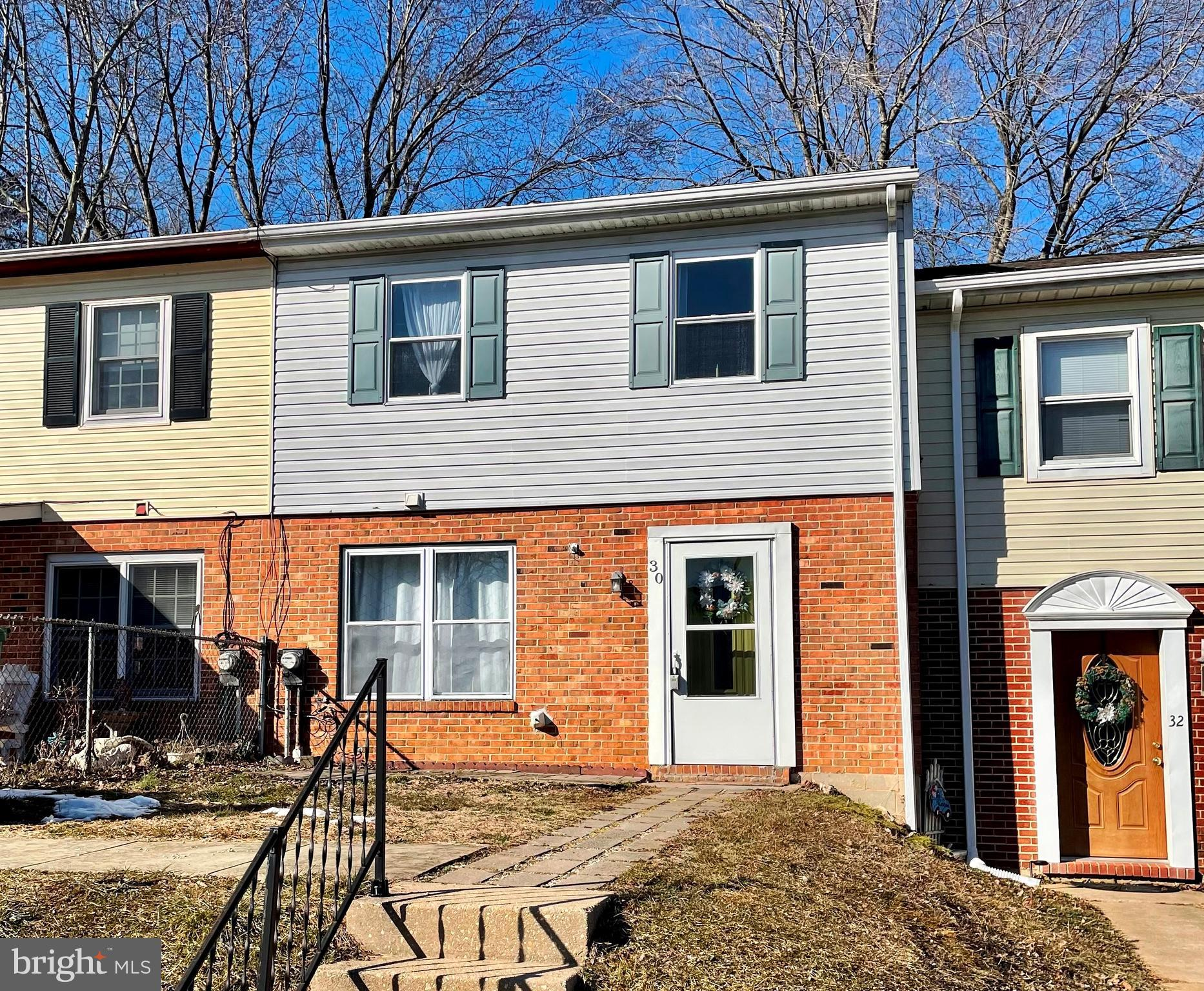 Move in ready townhouse in Rising Sun!  Offering three bedrooms and one and  a half bathrooms  with