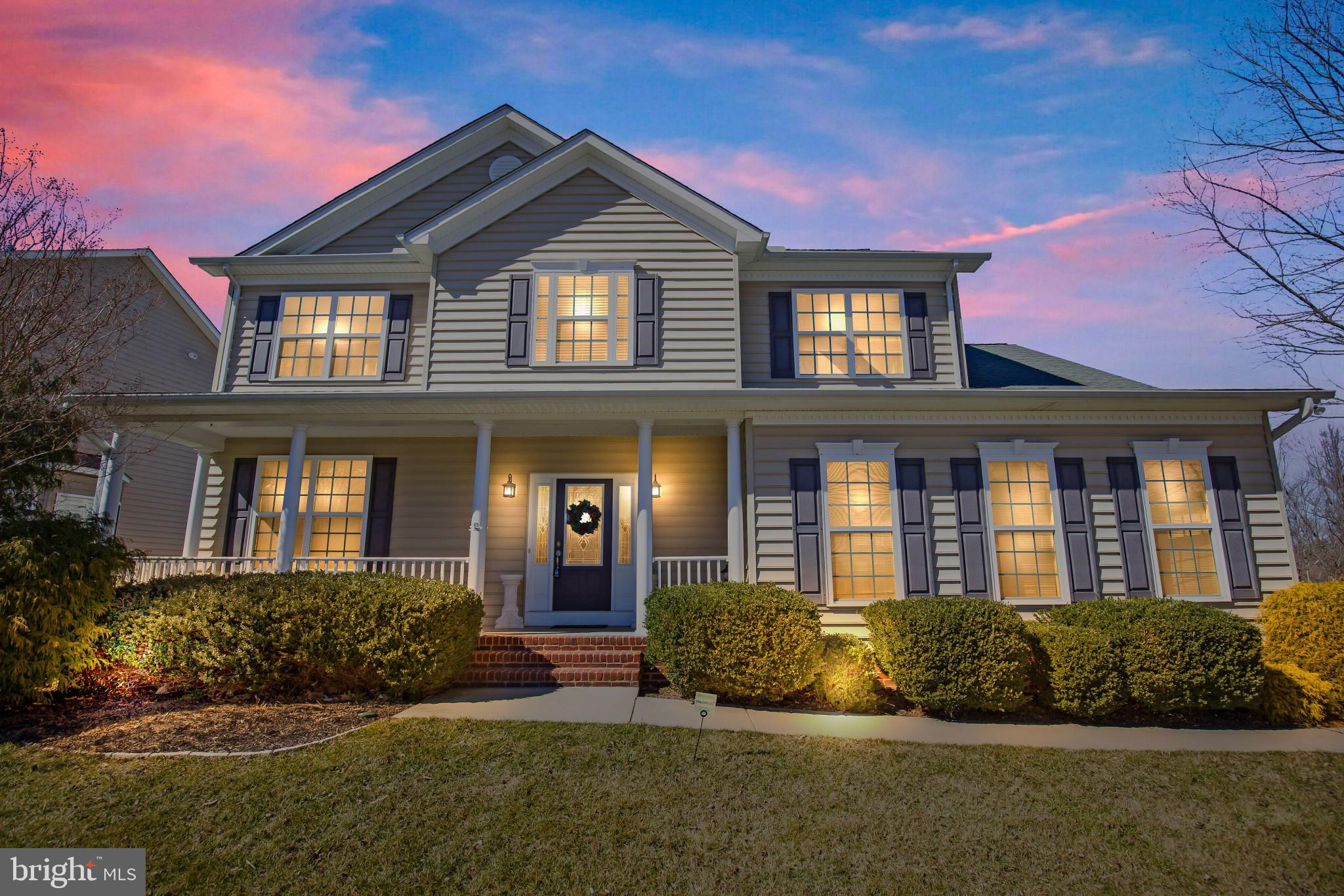 Welcome Home! Beautiful Colonial in Chesapeake Village. This home features 4 Bedrooms, 3.5 baths. Mo