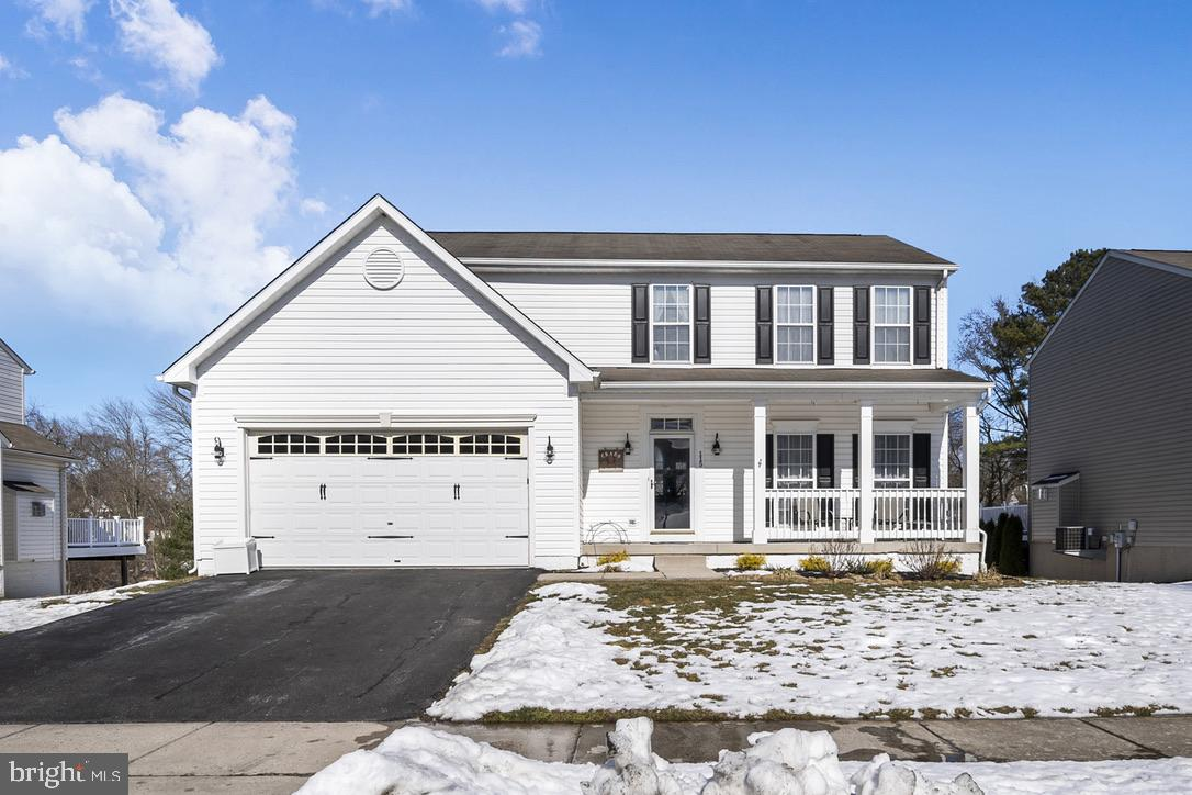 Gorgeous move-in ready colonial in the community of Rising Hills in Rising Sun MD with school feeder