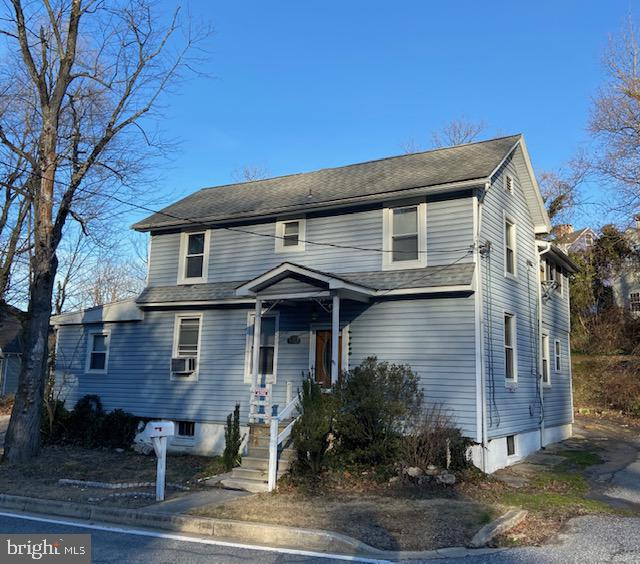 True 5 BR home! Structure in good condition.   Interior needs some TLC.  Vinyl siding and recent roo