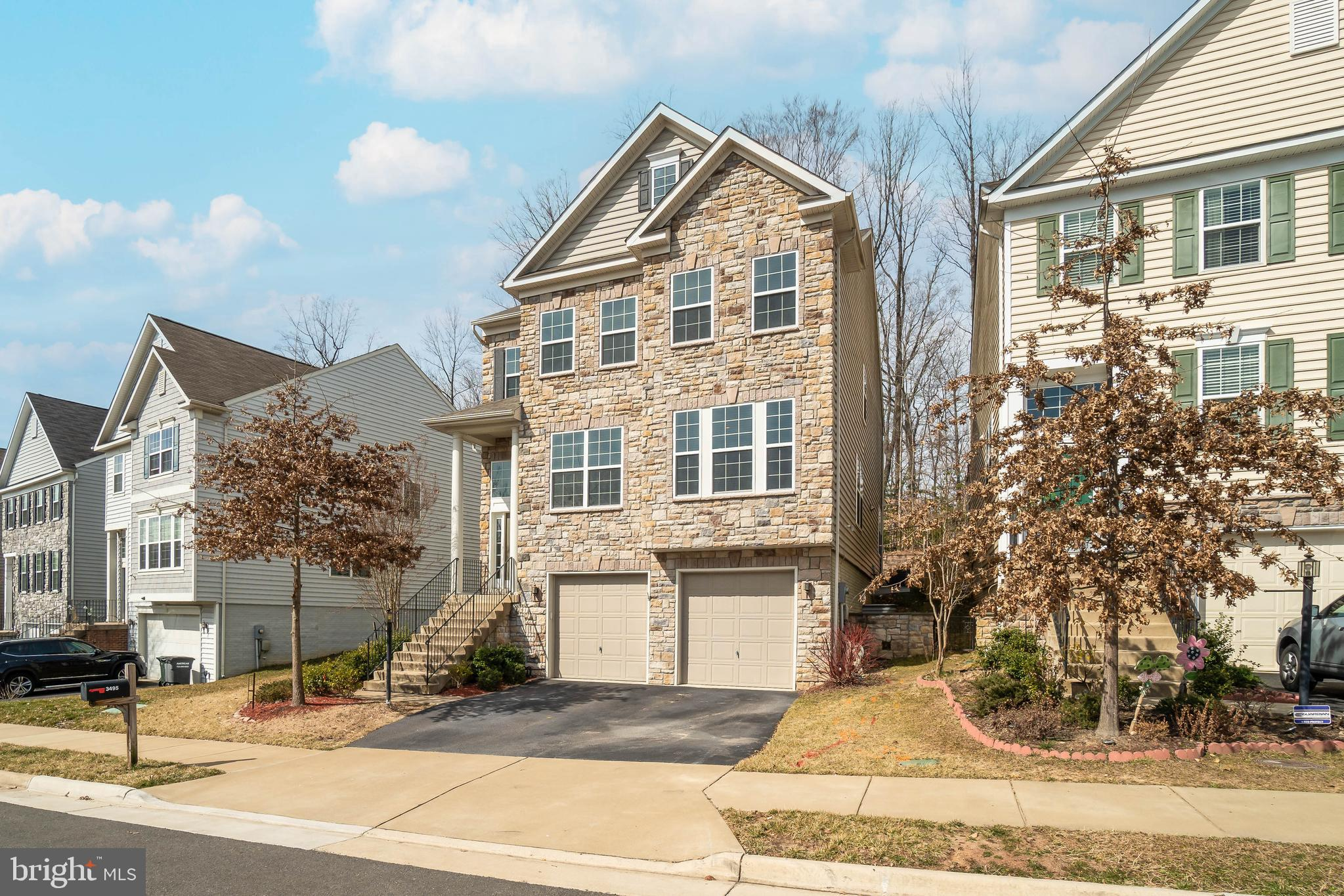 Welcome to this wonderful community of Eagles Pointe located on a in front of a scenic woods, this u