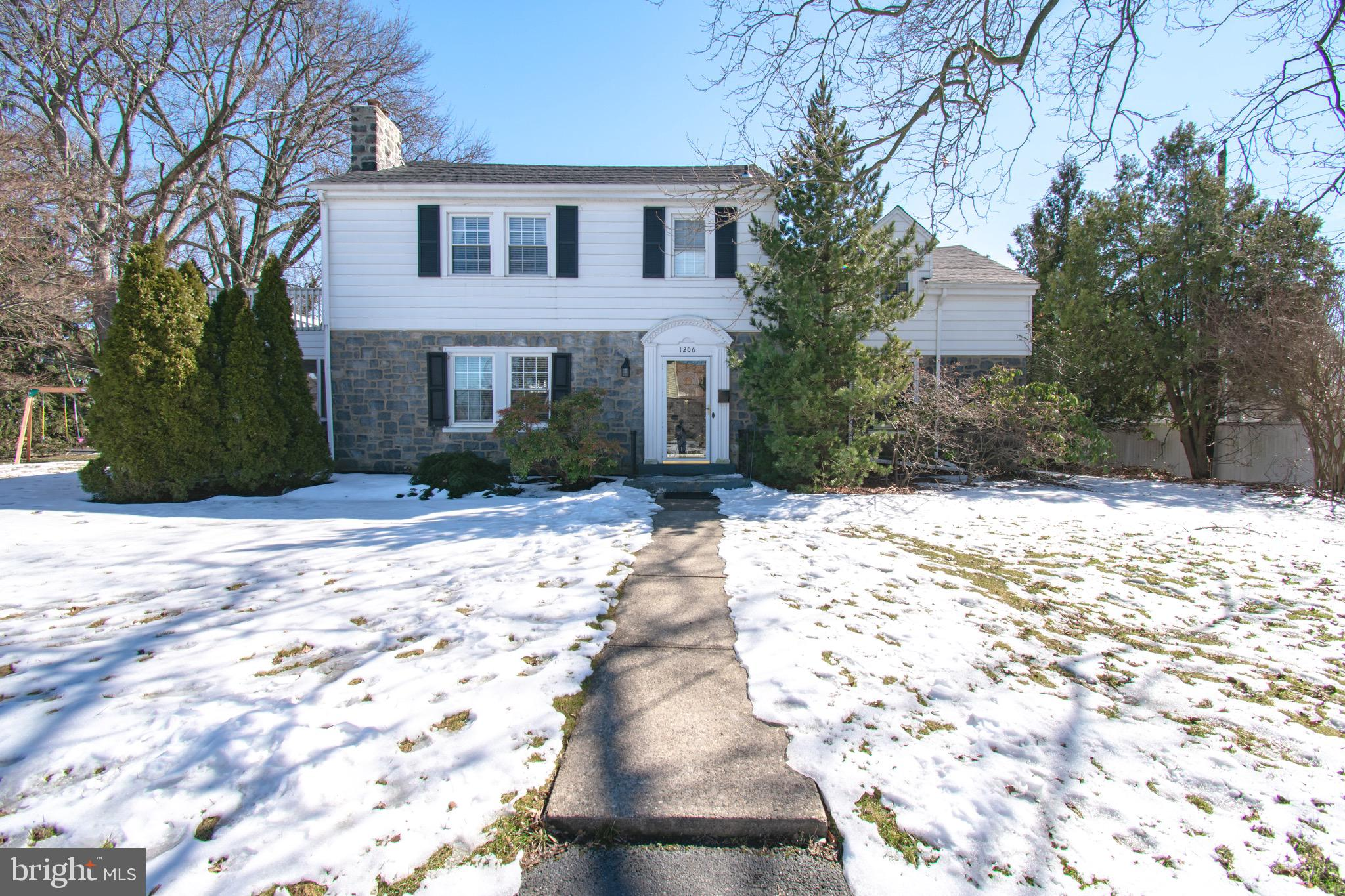 Stunning Colonial 2 Story in the conveniently located community of Hilltop Manor! After its renovati