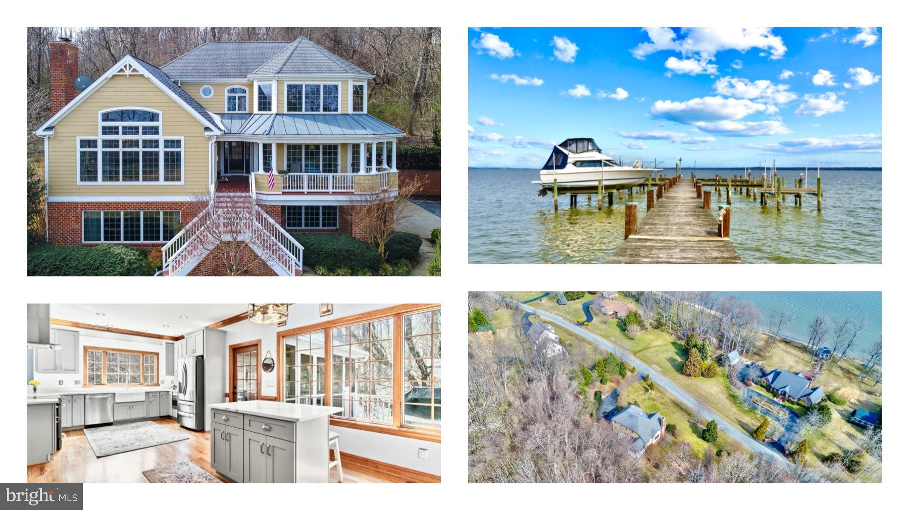 Living on the Water is Magical! This gorgeous custom-built, coastal style home sits on 3 acres overl