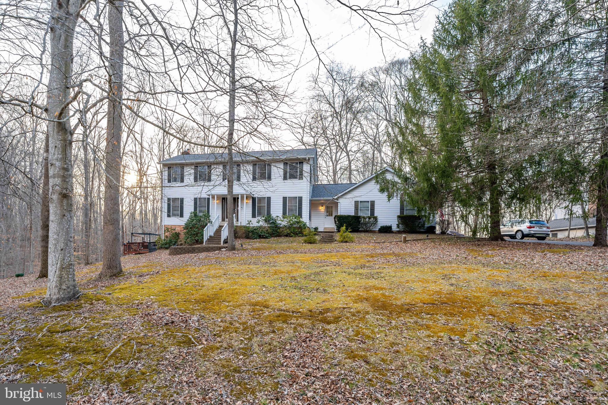NO HOA !Don't miss the chance for this Charming 4BD/3.5BA Colonial on almost 2 private acres!  Looki