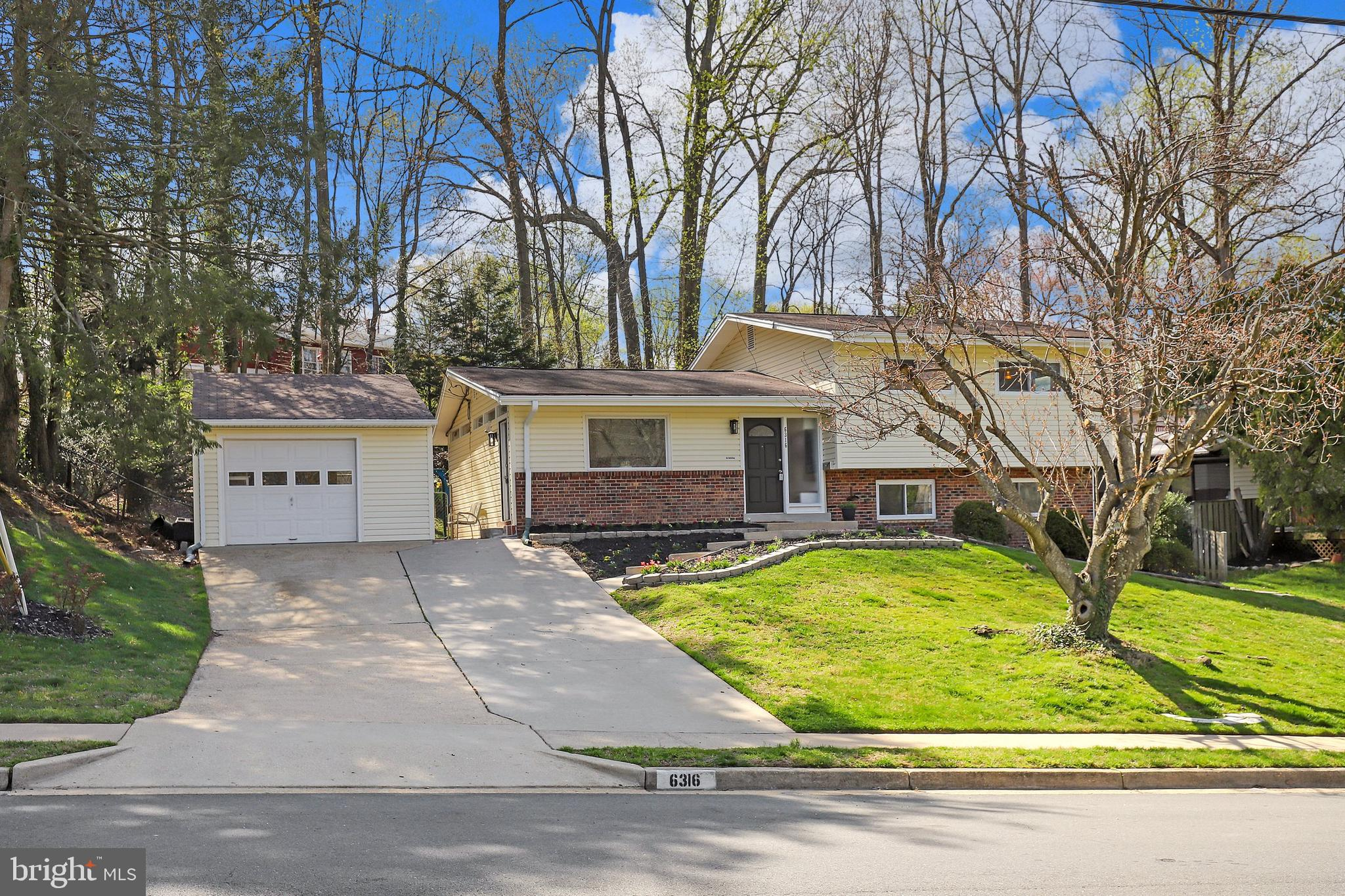 Stunning fully renovated split level home in the highly sought after West Springfield district, walk