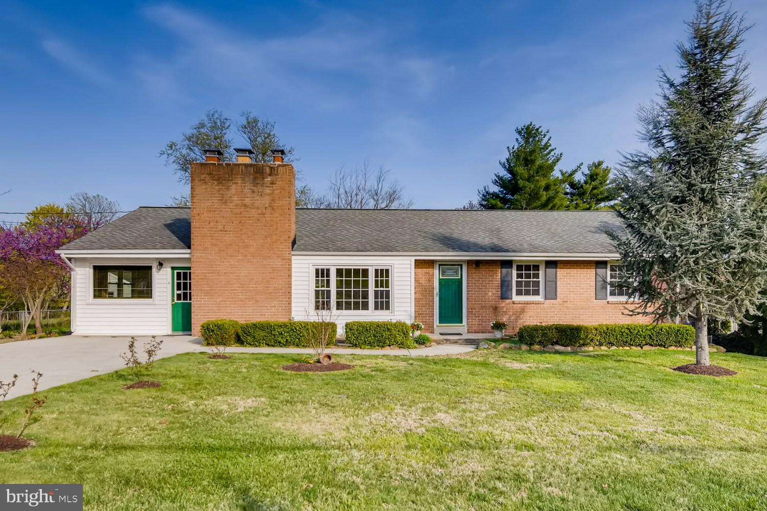 Welcome to this  beautiful bright brick Rambler house. Close to I-95, 495, ICC200 and Rt 29. No HOA.
