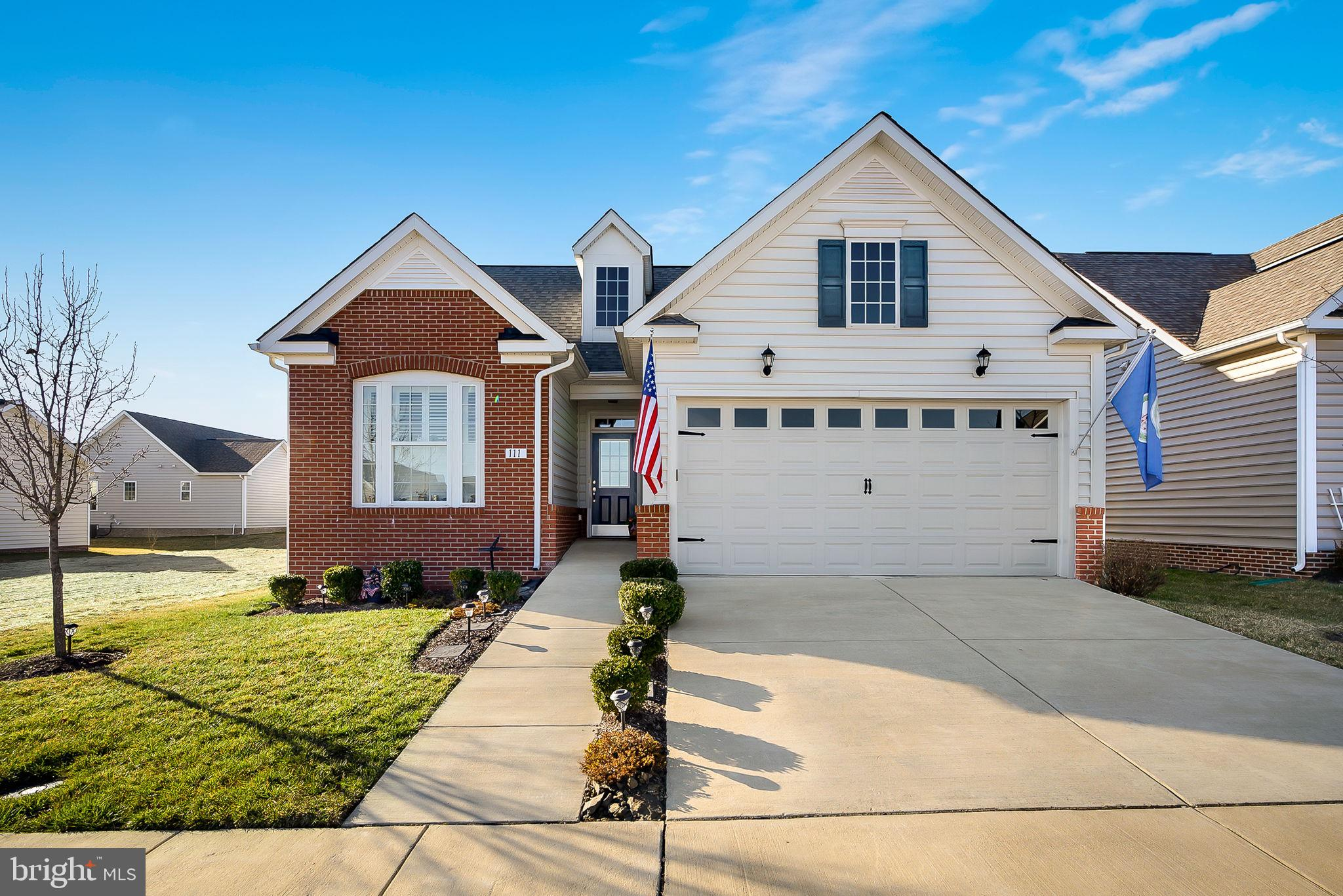 Cedar Meadows 55+  Gated Community. This Nickerson II model was built in 2016 with 3 bedrooms and 2