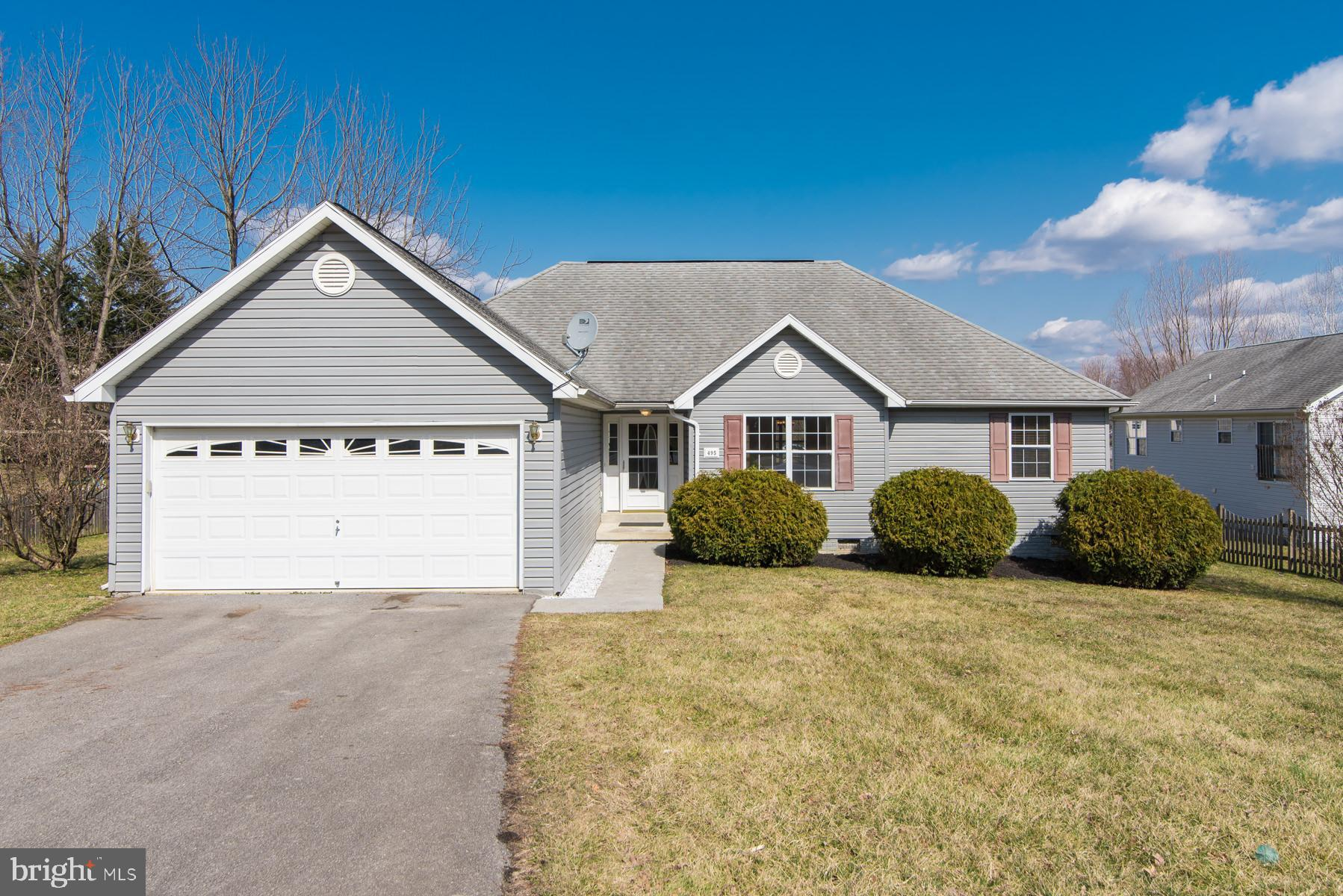 Wonderful move in ready one level  home on large lot, across the street from the neighborhood park!