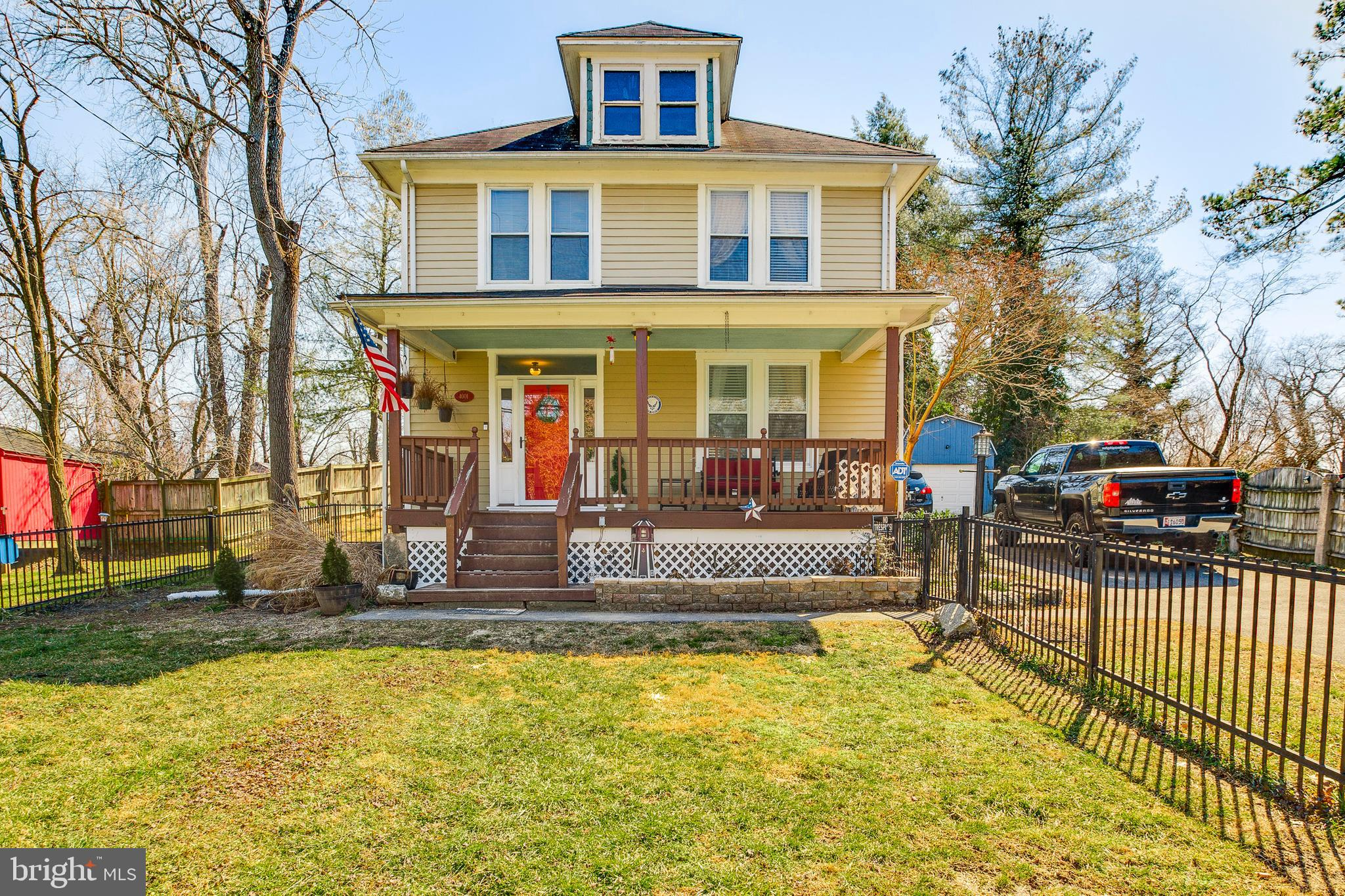 Welcome home to this charming, 4 bedroom Colonial featuring historic details & modern updates in Ell