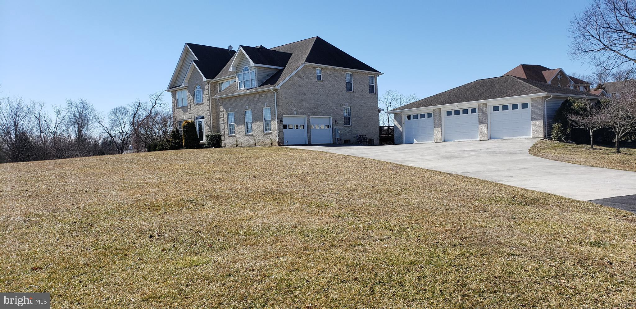 Stately Brick /Stone 3 Level Colonial on 2+ acres*Over 6,000 SQ FT* This Lovely Home Offers 2 Story