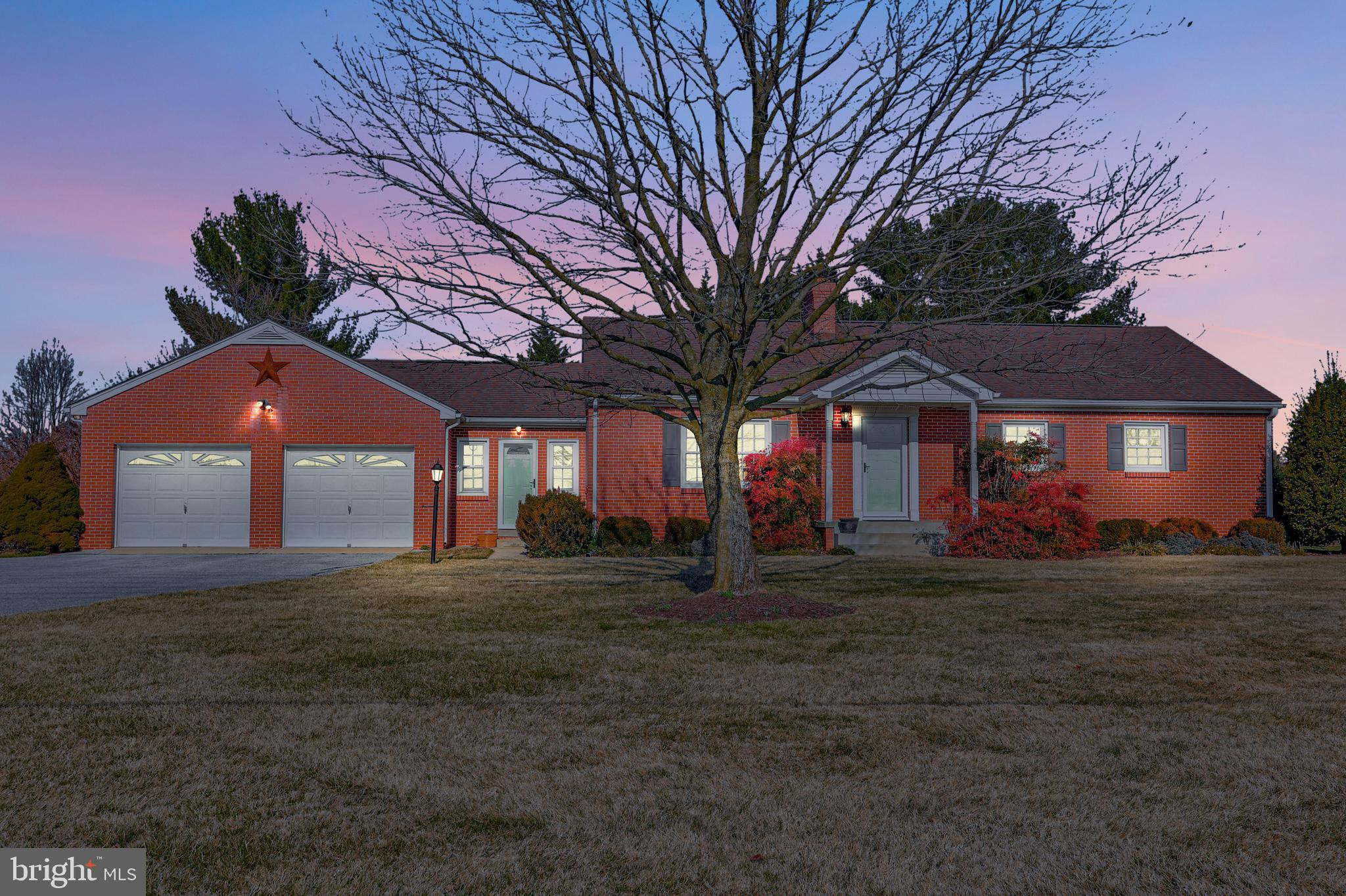 Well cared for rancher situated on nearly an acre offers the convenience and ease of main level livi