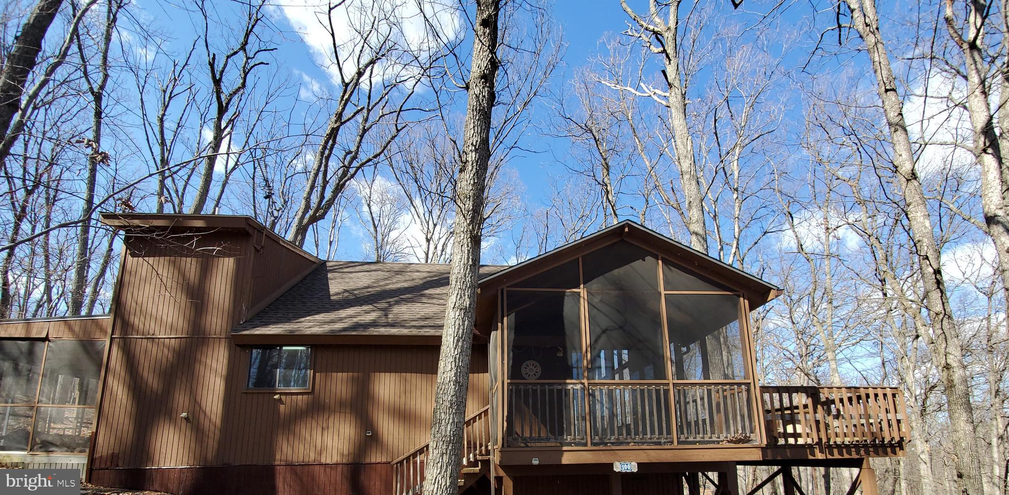 ELMWOOD MODEL - This 2 Bedroom, 2 Bath  Chalet is MOVE-IN READY . Situated on almost 1 acre wooded