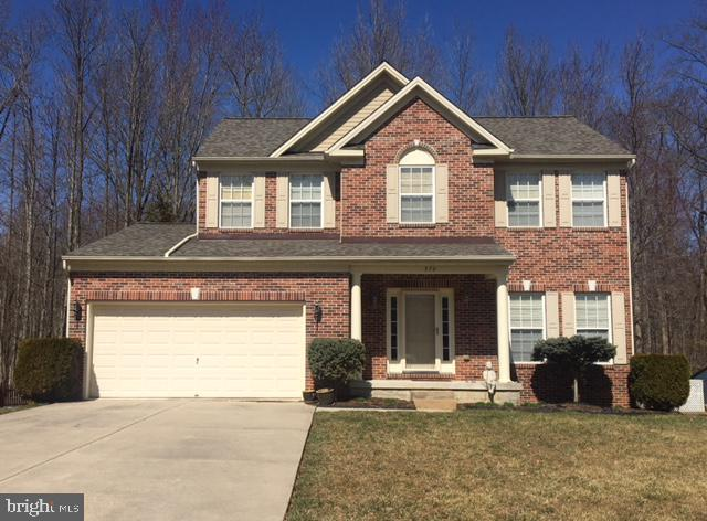 GET READY TO BE WOWED!   579 Windsong Drive, Aberdeen, MD is a gorgeous brick front home  located in