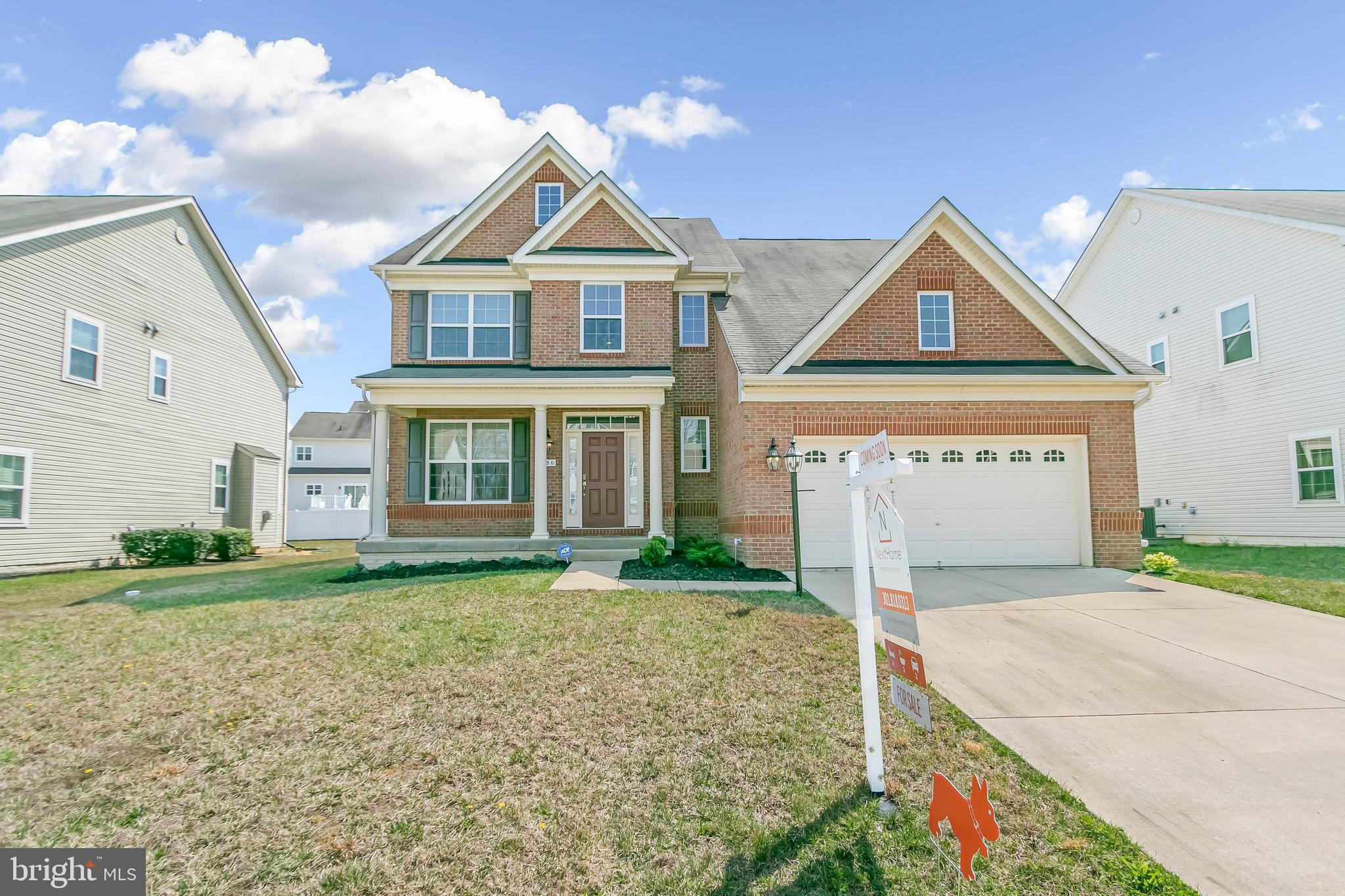 A fantastic opportunity, this home features 4 BR, 2.5 BA, 2-car garage with 9-foot ceilings on 1st f