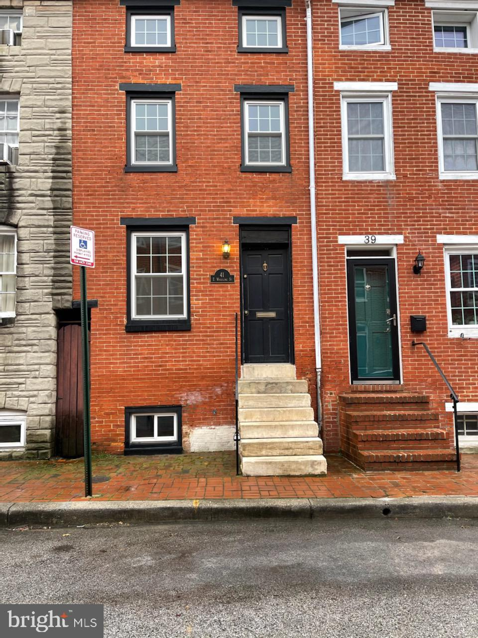 Incredible location in Federal Hill!  Live and walk to everything this wonderful Neighborhood has to offer!  Live steps from the Cross Street Market shopping district, both Raven's & Orioles stadiums, a short walk to the Inner Harbor and Federal Hill Park.  This is a 3 story home with a privately fenced rear yard & rooftop deck offering amazing City views.  Enjoy an open floor plan, wood floors, main level fireplace, 2nd floor laundry, newly installed full bathroom and a full basement offering plenty of storage.  Make your appointment today!