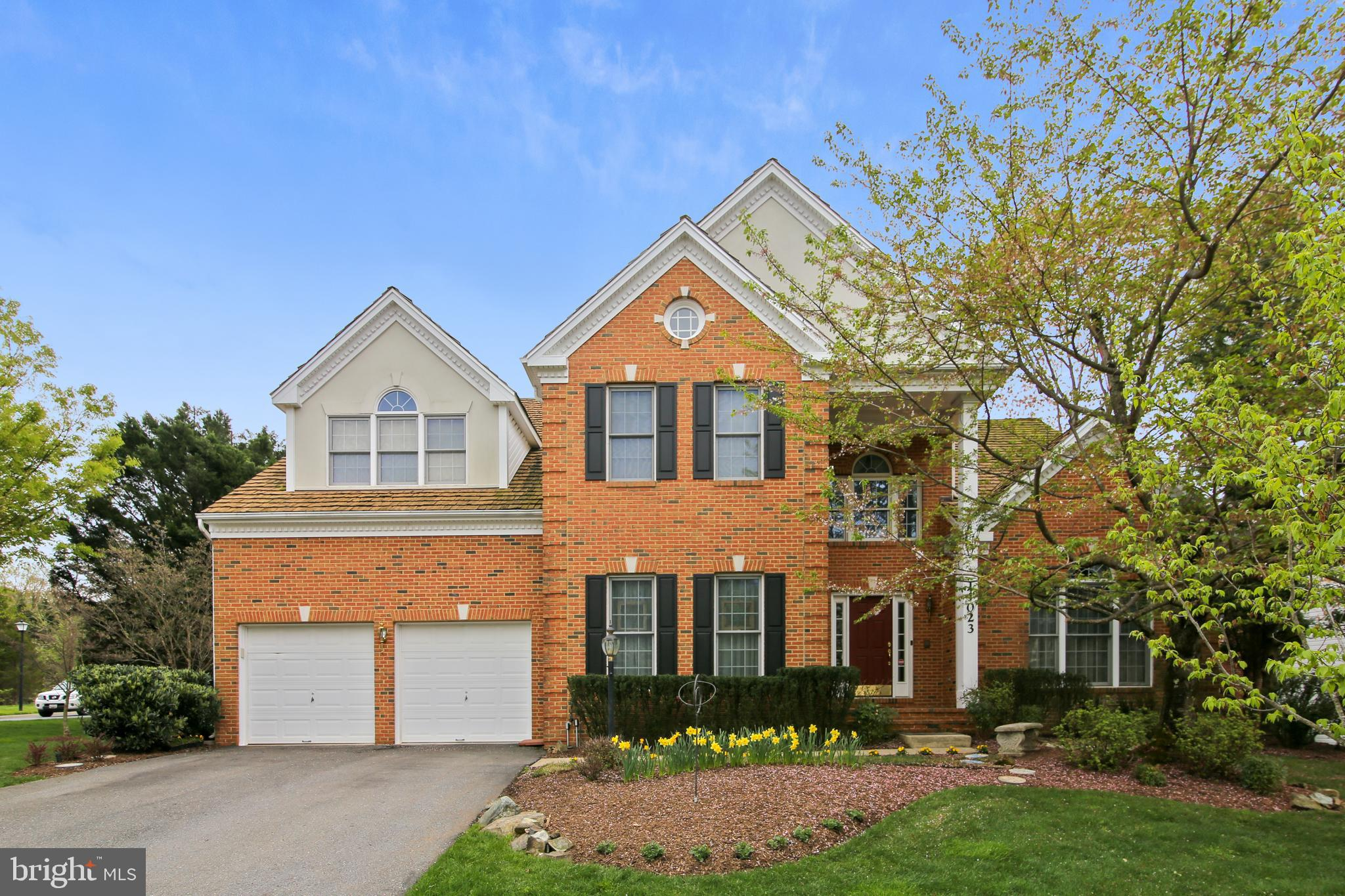 This Winchester former model home in the much sought-after Willows of Potomac Community has all you