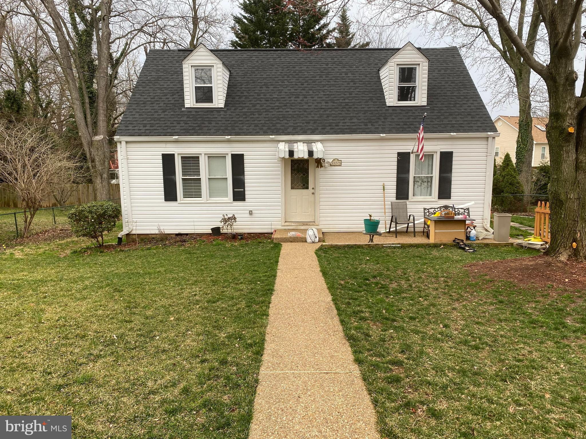 This Charming Cape Cod offers 4 bedrooms with fresh paint and new carpet all rooms.  The floor on th