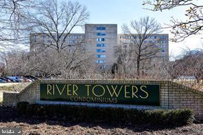 Popular River Towers 1BR 1BA unit on the top floor!  River Towers is conveniently located just south of Old Town along the GW Parkway adjacent to the Potomac River and Mt Vernon bike and walking trails, and on 26 beautiful park-like acres bordered by the Dyke Marsh Wildlife Preserve.  Condo amenities  include swimming pool, tennis and basketball courts, picnic grove with grills, exercise and laundry facilities in each building.  A short walk to the local shopping center with a grocery store, optometry and dentist offices, florist, bank, drug store, gift shop, restaurants, post office, jewelry store, and bakery.  Just across Ft Hunt Road is the Mt Vernon Rec Center with an ice rink located next to the Martha Washington Library.  All  utilities are included in the reasonable monthly condo fee.  Major transportation routes are the Parkway and Richmond Highway into DC, Pentagon. Arlington; beltway around the metro area; or across the Woodrow Wilson Bridge into Maryland and beyond.  Perfect opportunity for an investor as the long-time tenant would stay indefinitely.  This immaculate unit has like new carpeting in the living areas and tile in the bathroom and kitchen.    Please text listing agent for showing, but it will be easy.  Unit will be available on June 1st.