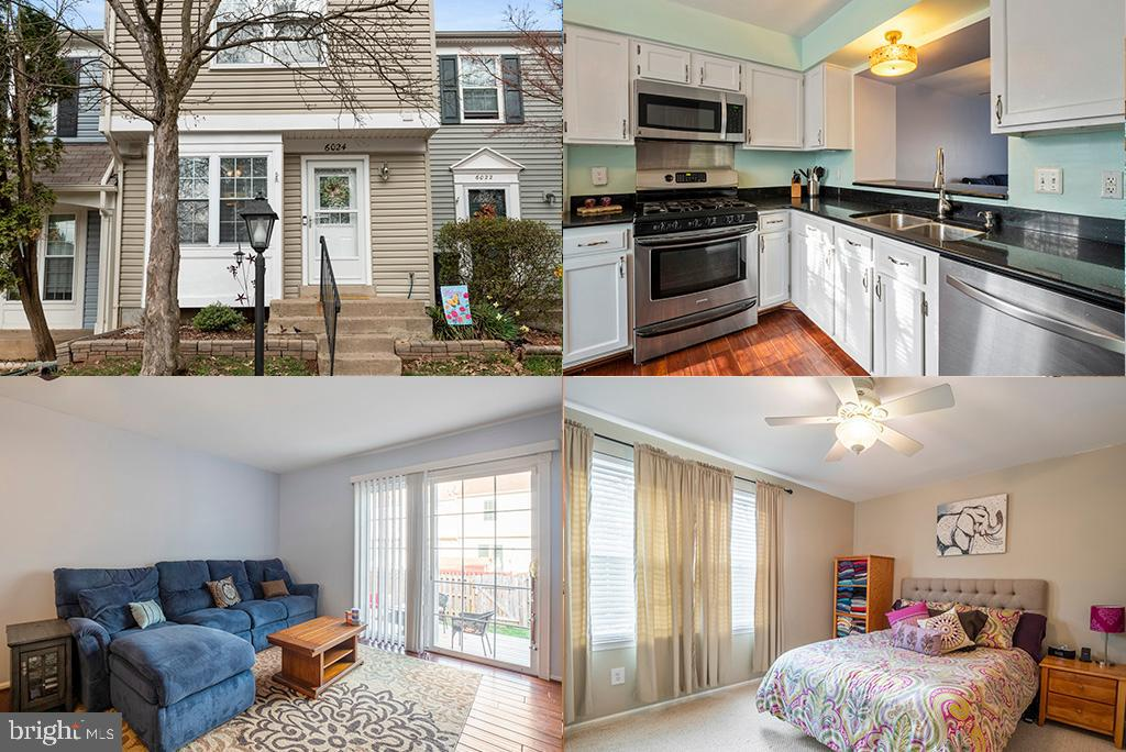 Charming 3 level, 2 bed, 1.5 bath townhome on a cul-de-sac. This well-kept home is move-in ready. Fe