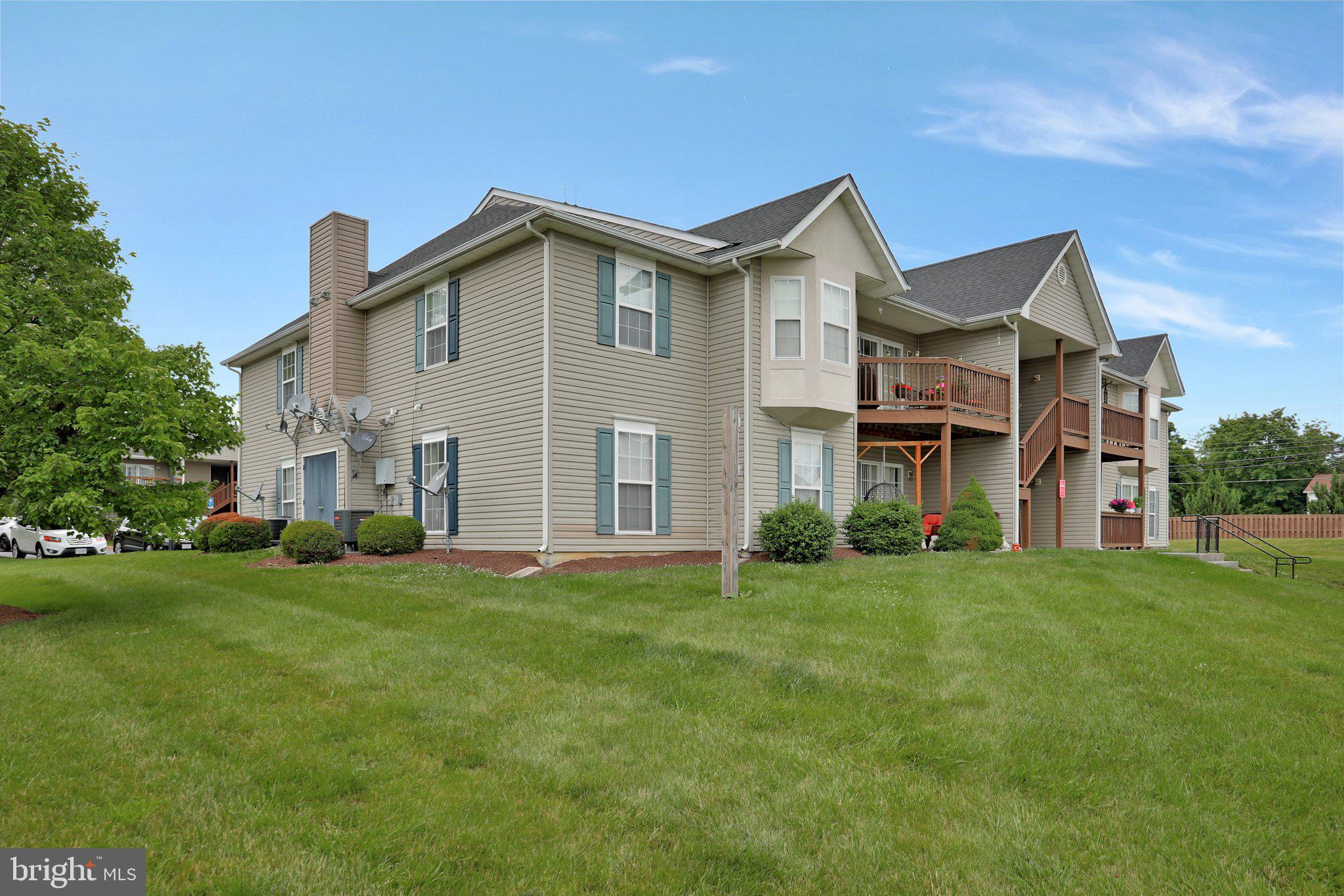 Commuter location- Located just off Rt. 7. The main level condo offers 2 bedrooms and 2 full baths.