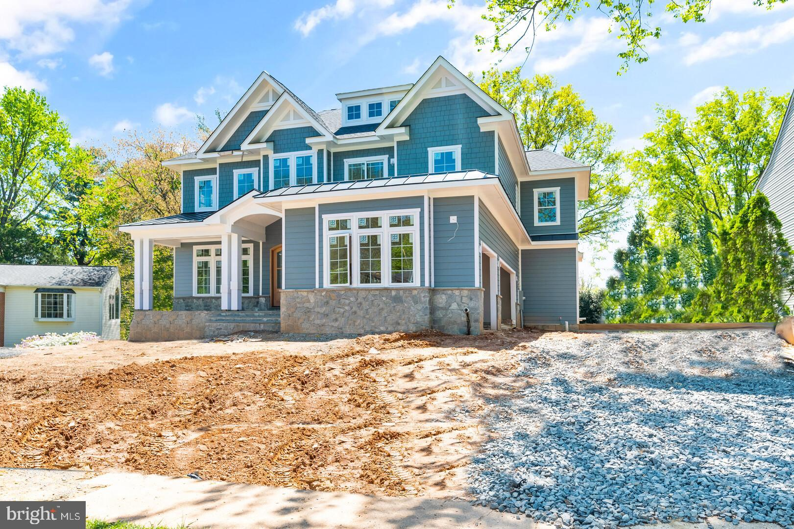 Welcome to this just-built, stunning, 7 bedroom, 7 1/2 bath home featuring a gourmet kitchen, wood f