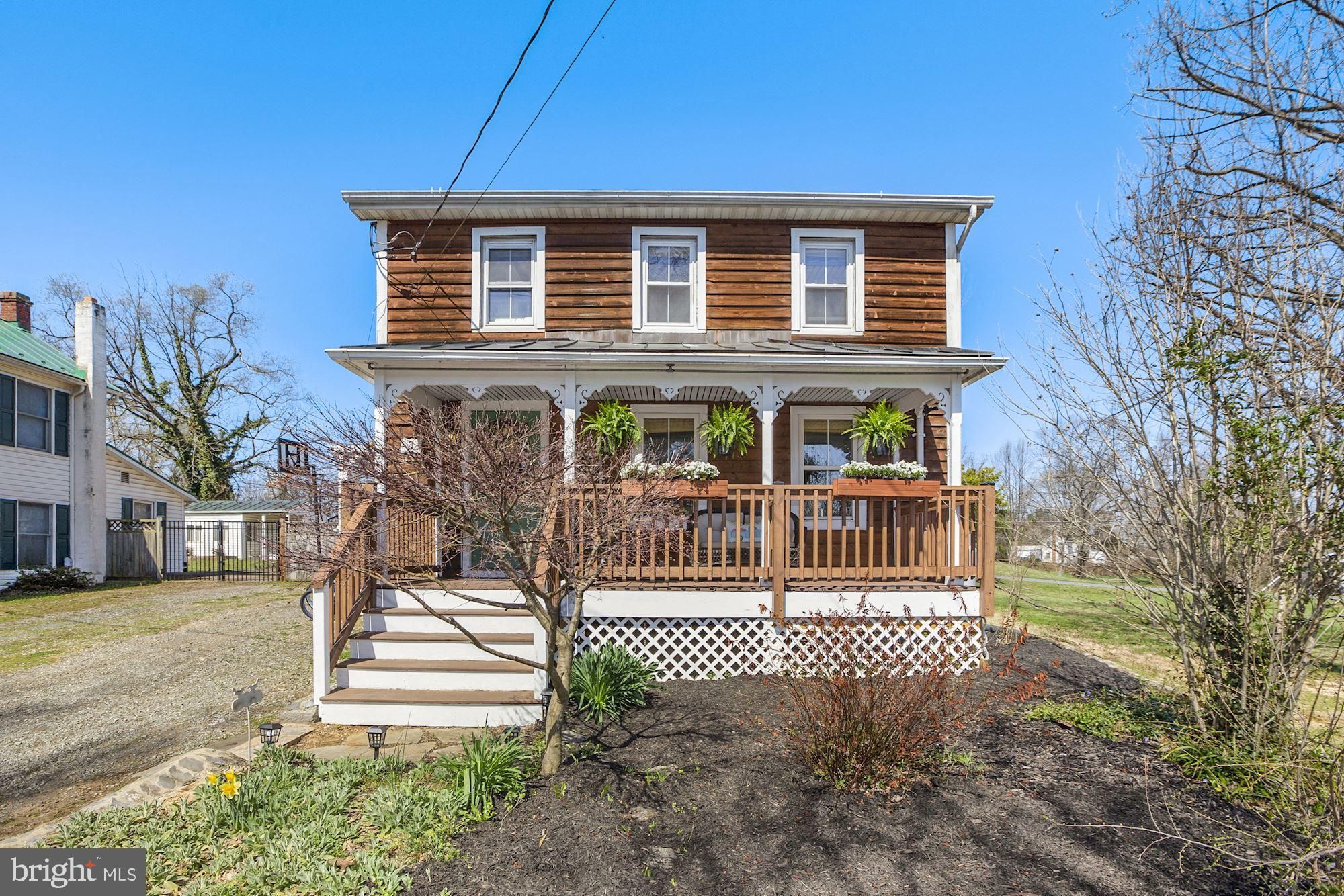 An adorable place to call home just 5 minutes from Downtown Berryville.  Sun-filled welcoming  and s