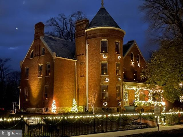 The Gibson-Todd house,  is one of the crown jewels of historic Charles Town WV, about 45 miles from