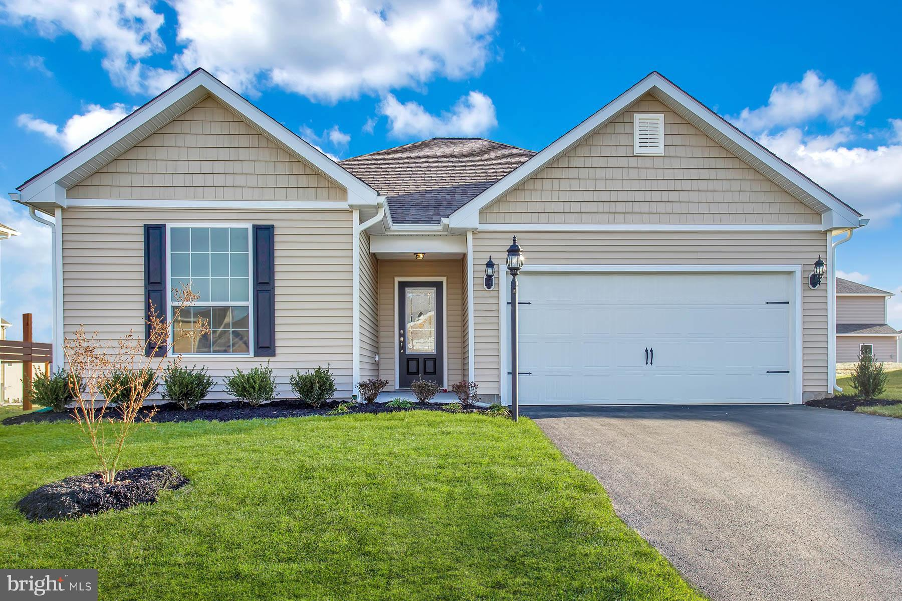 This meticulously designed single-story home features the ideal three-bedroom, two-bathroom layout w