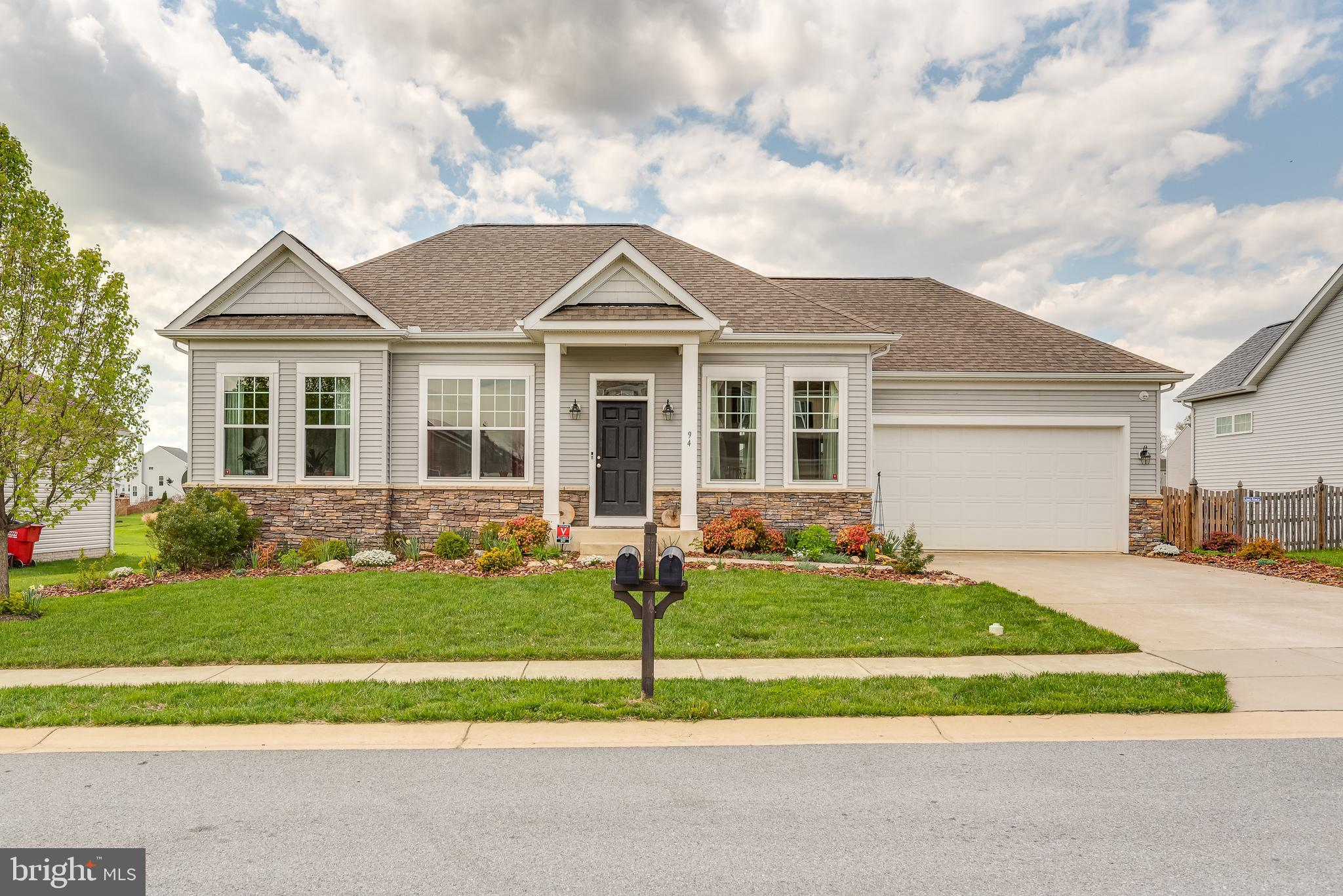 Beautiful rancher in the heavily sought after Norborne Glebe Subdivision.  This lovely home built in