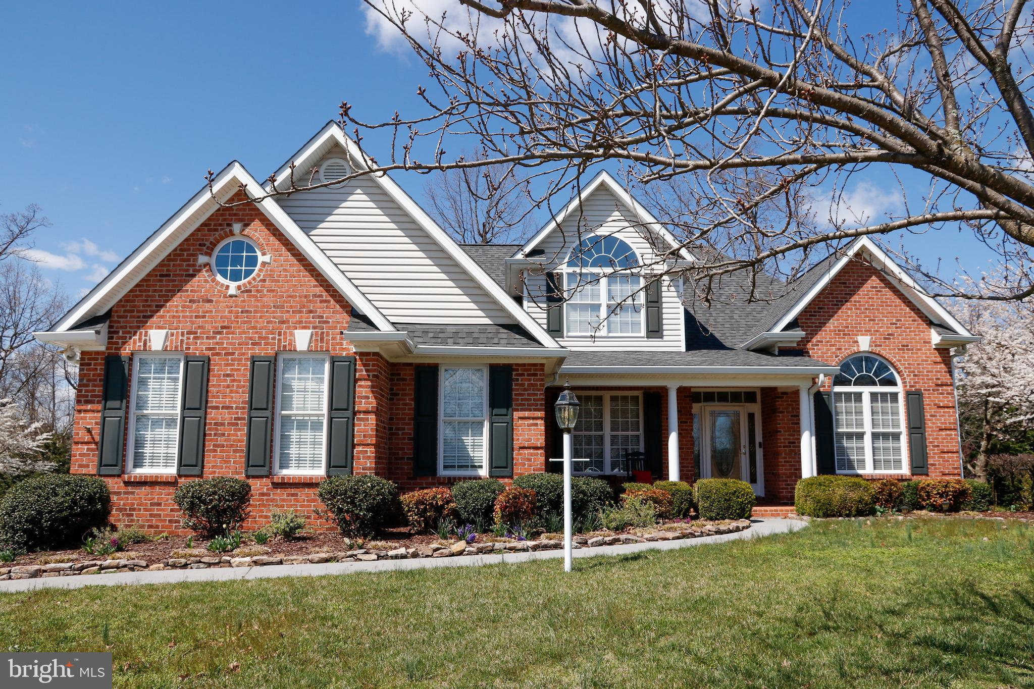 """STUNNING  and ELEGANT CUSTOM BUILT HOME in the SOUGHT AFTER SUBDIVISION  of """" CAMP AT MOSBY STATION"""""""